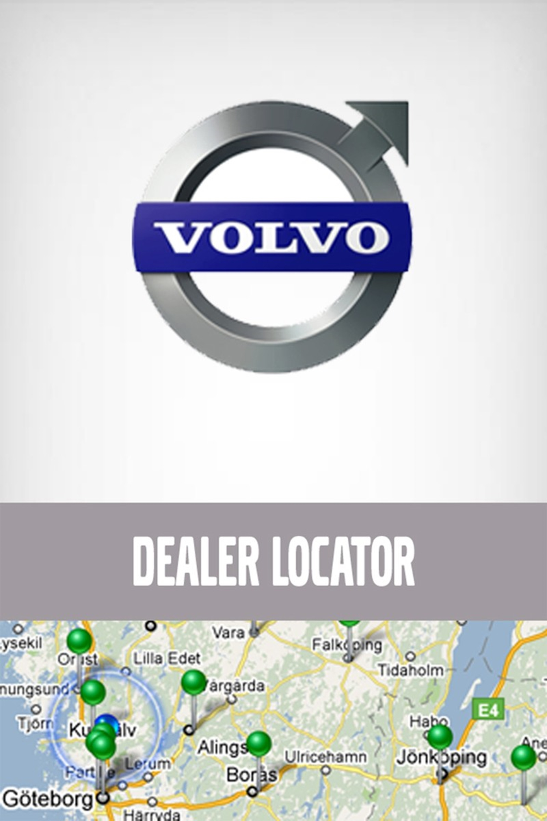 Volvo Trucks' newly-launched Dealer Locator smart phone 'app'