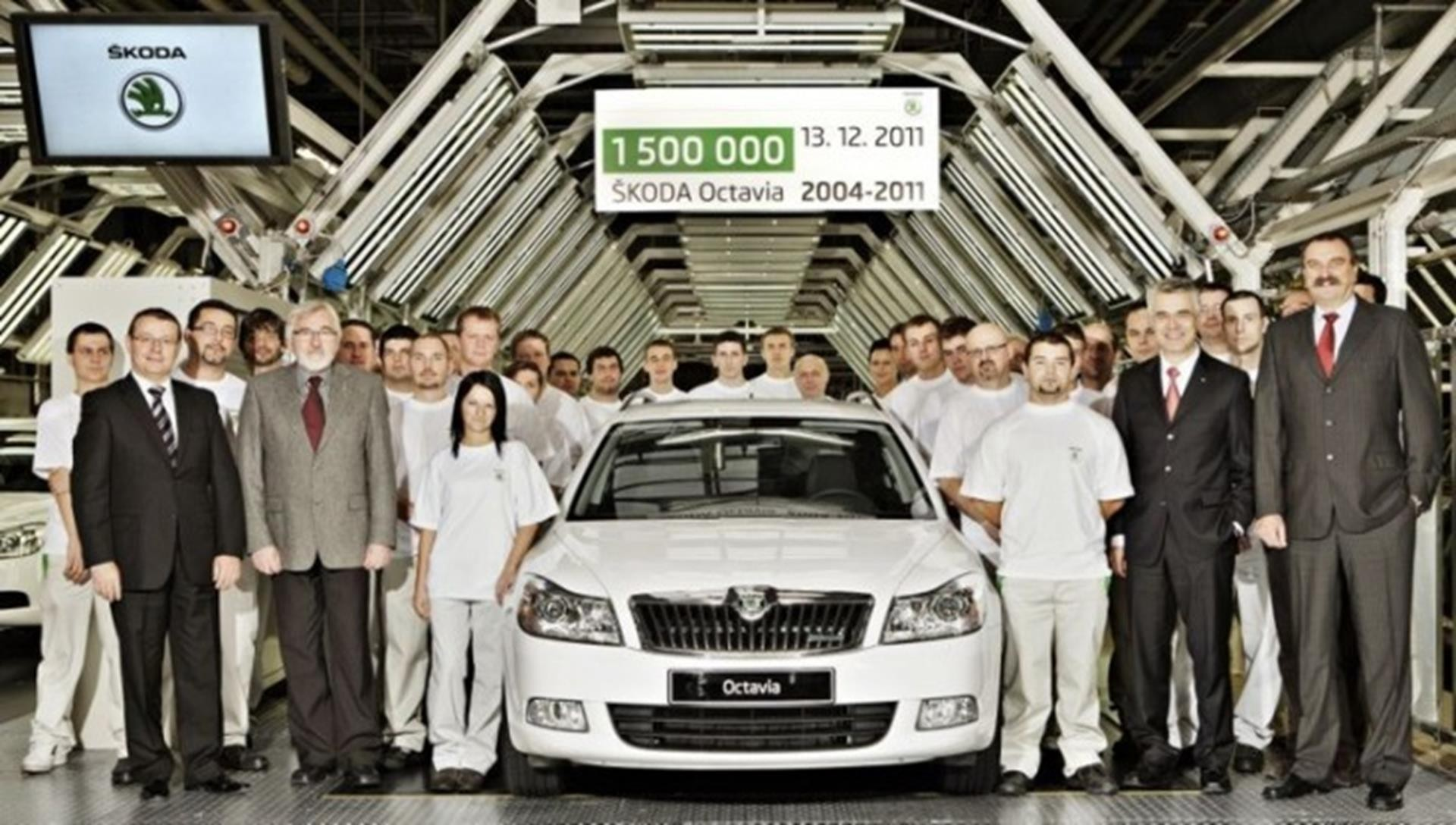 1,500,000th Octavia II Produced