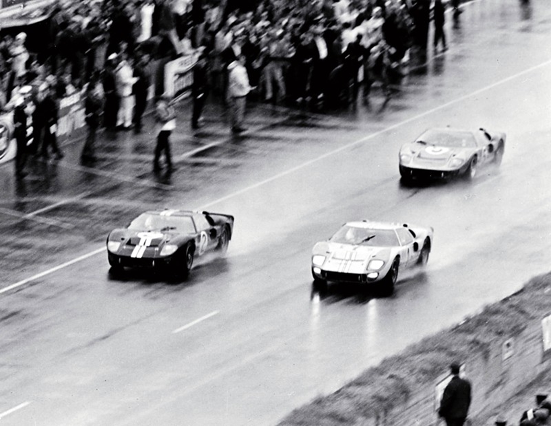 Ford GT Concept History: 1966 LeMans victory