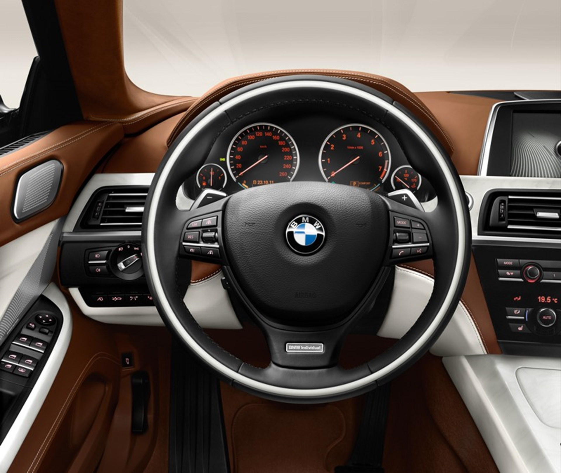 2013 BMW-6 Series Gran Coup Interior