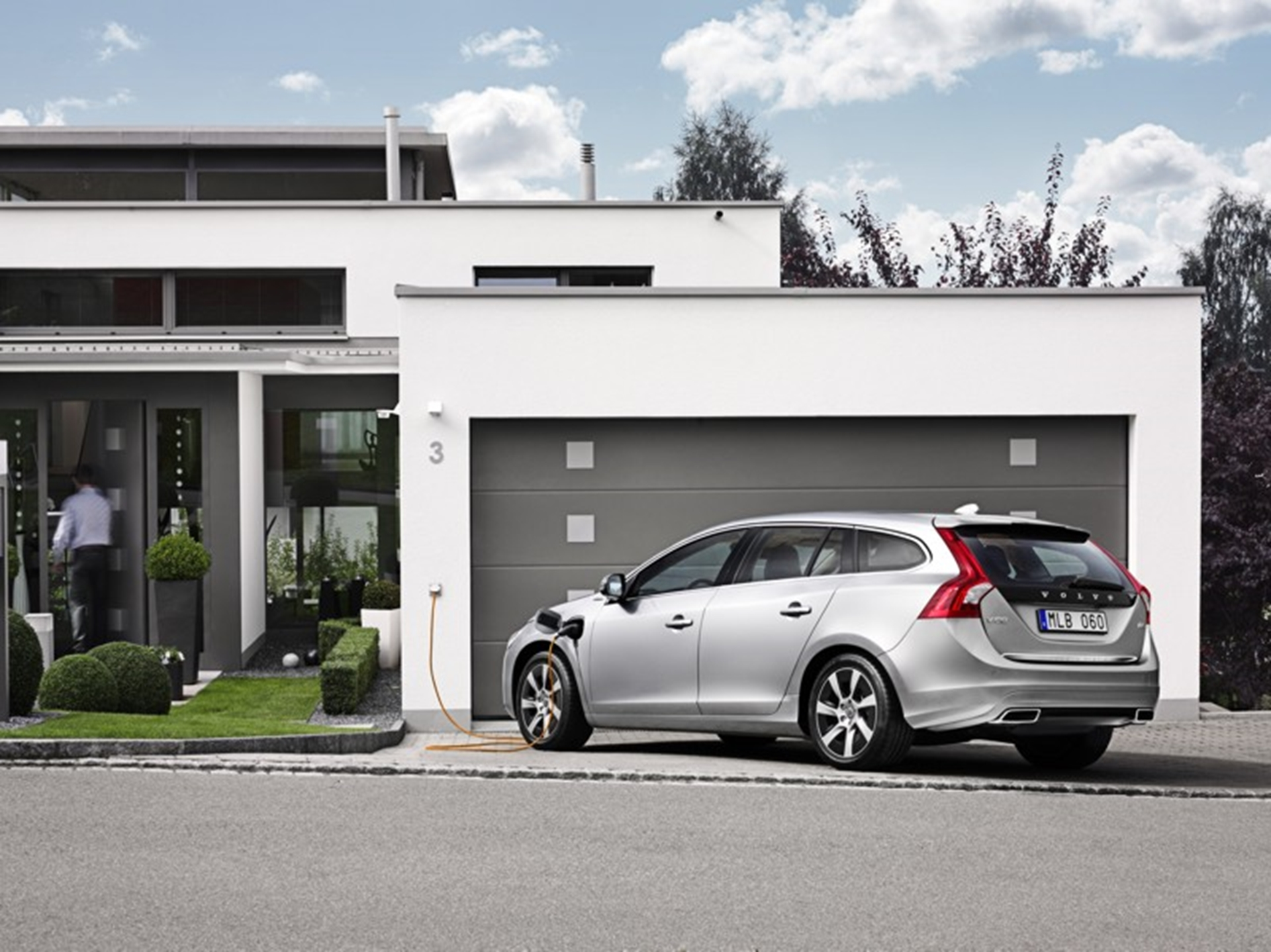 The Volvo V60 Plug-in Hybrid