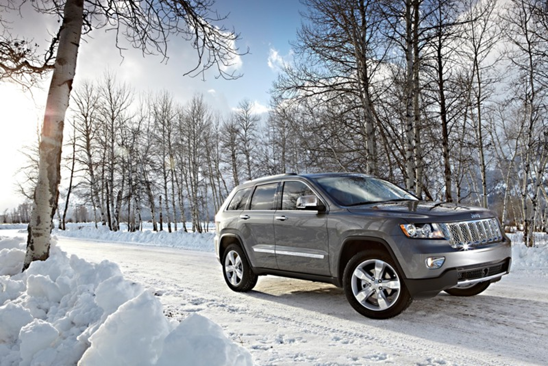 Grand Cherokee Overland Summit