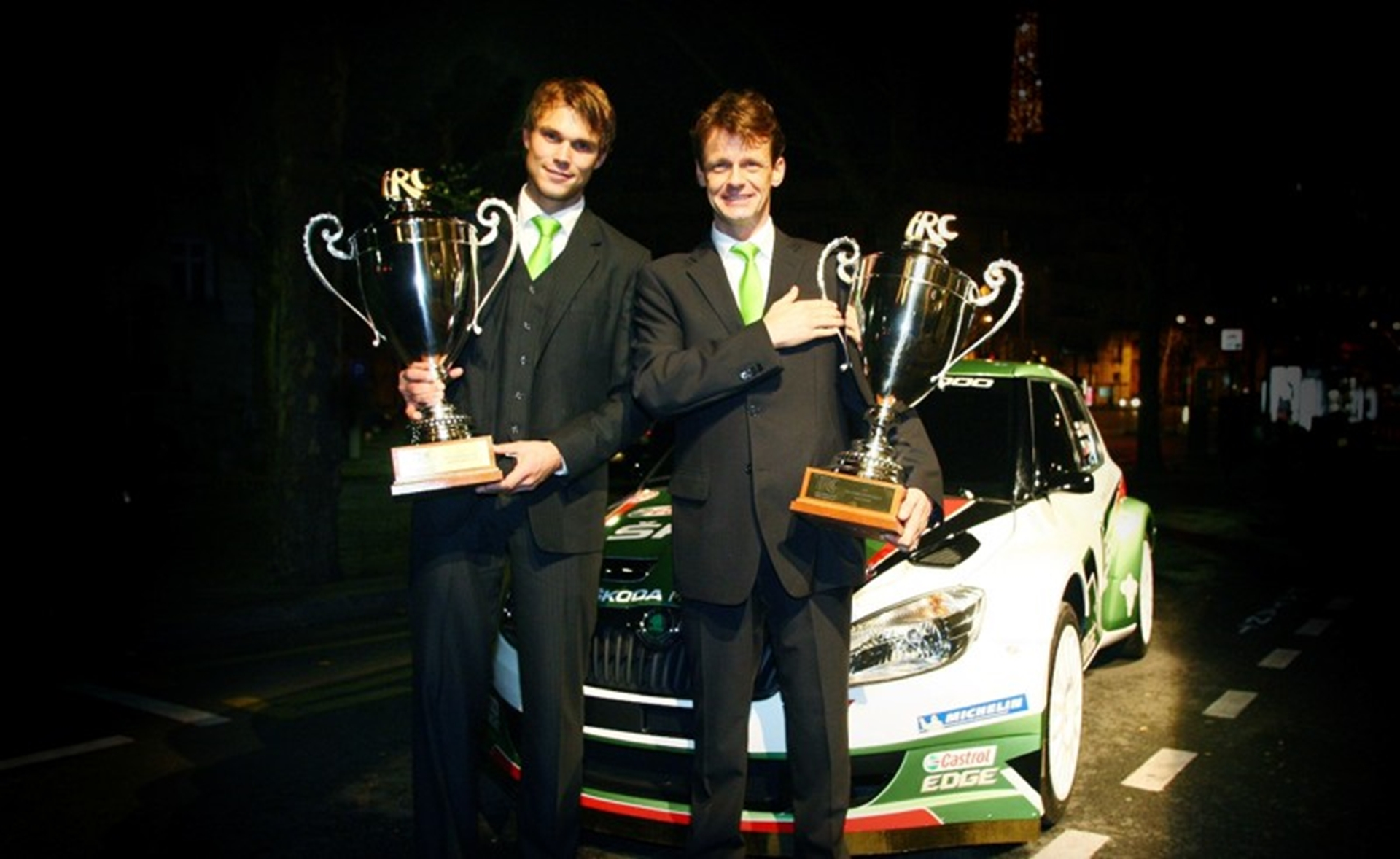 ANDREAS COLLECTS IRC DRIVERS' TROPHY IN PARIS