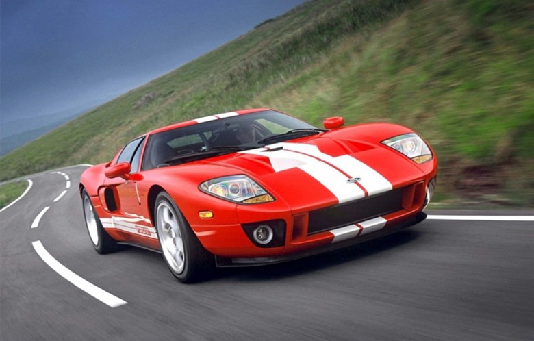 2002 Ford GT produced to celebrate the 2003 Ford centenary
