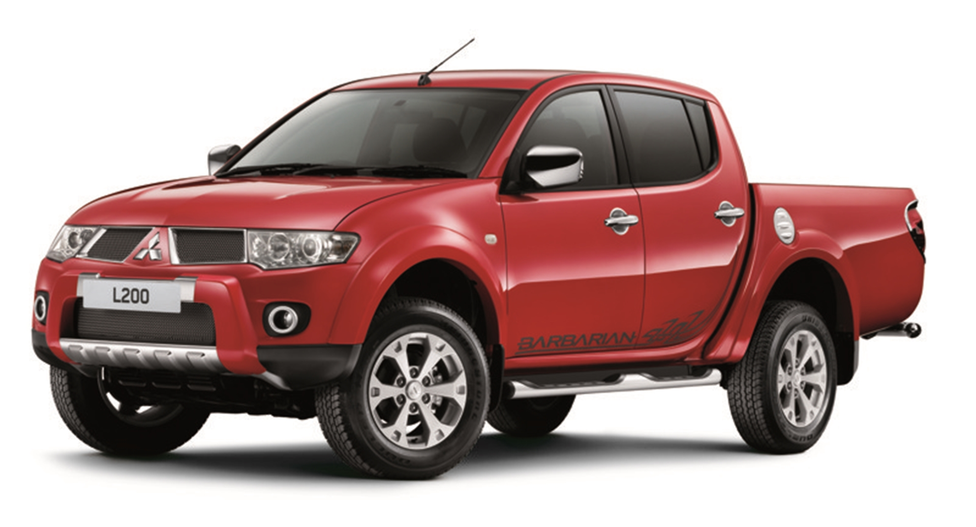 The Mitsubishi L200 Barbarian