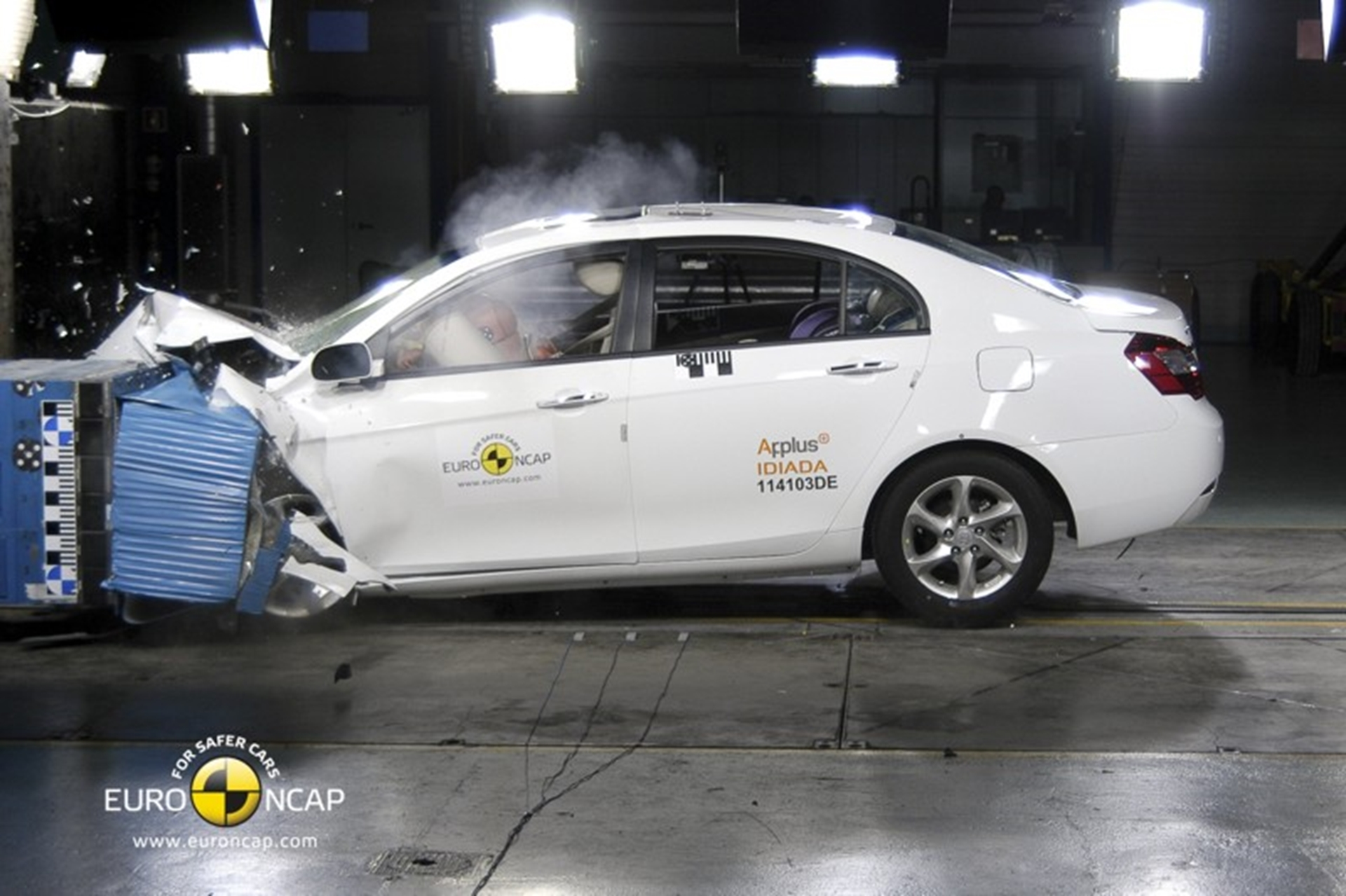 New Geely Emgrand EC7 gains NCAP 4-Star safety rating