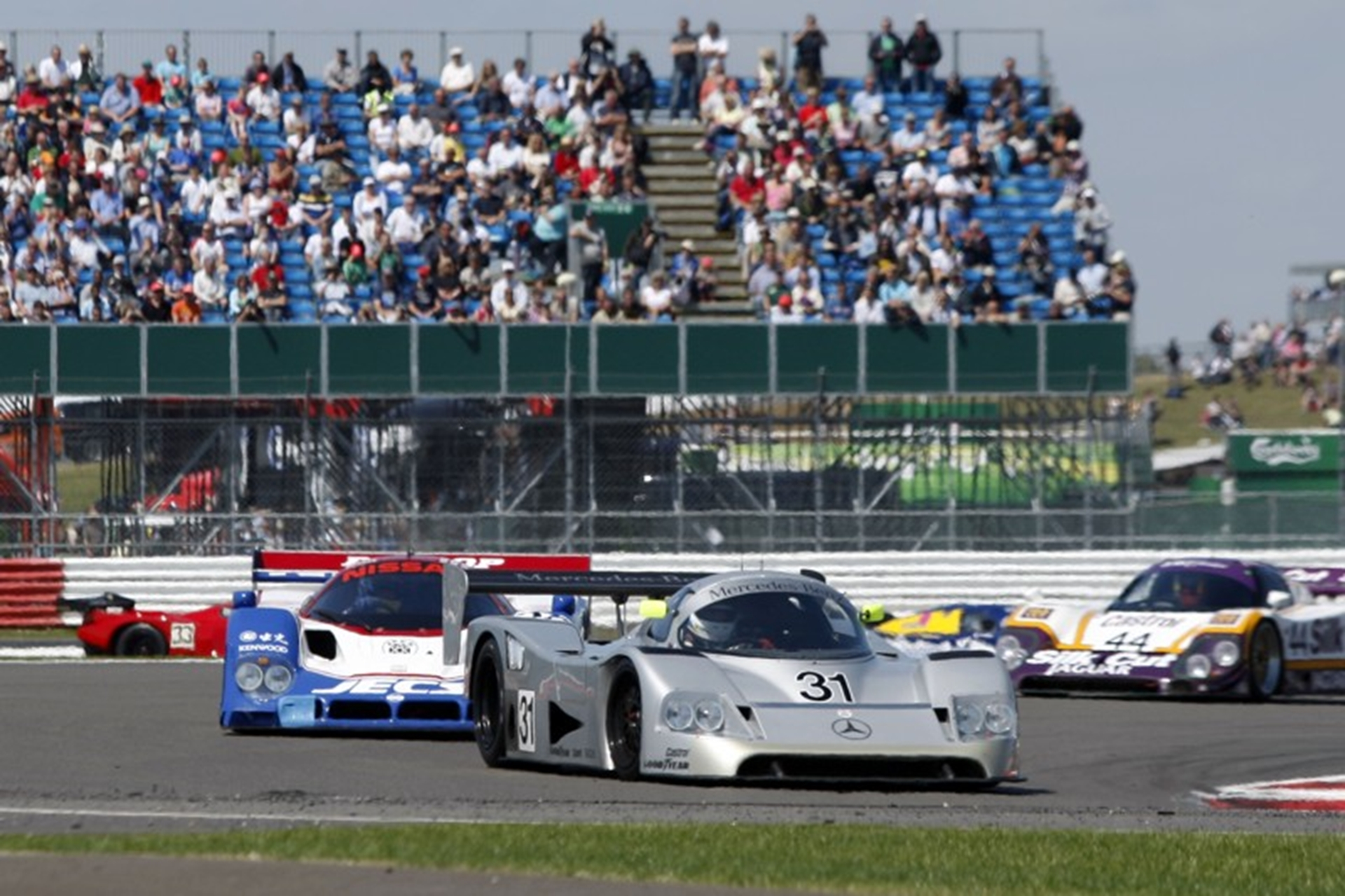 Silverstone Classic revs up for more records in 2012