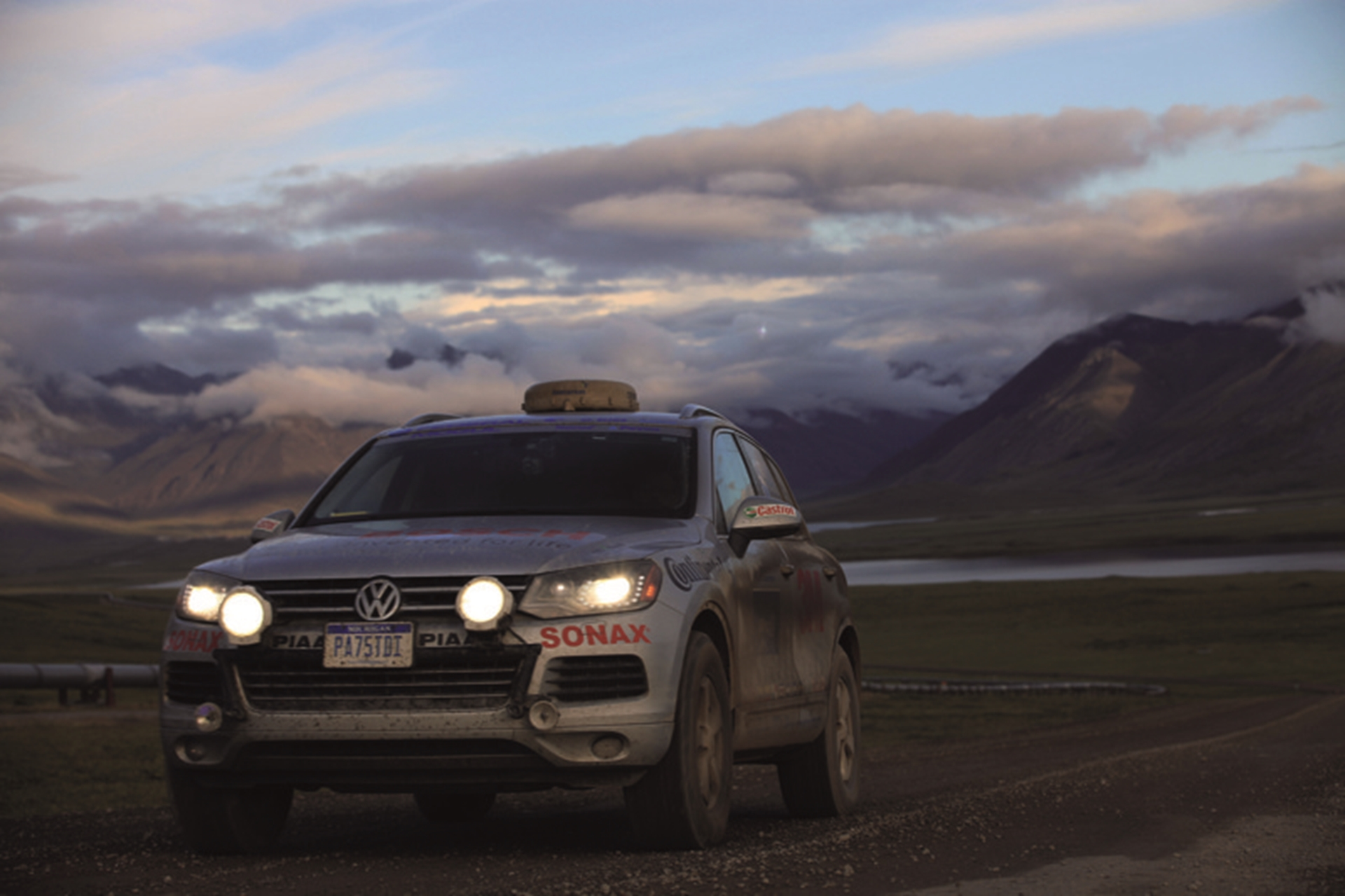 World record setting Touareg visits Wolfsburg