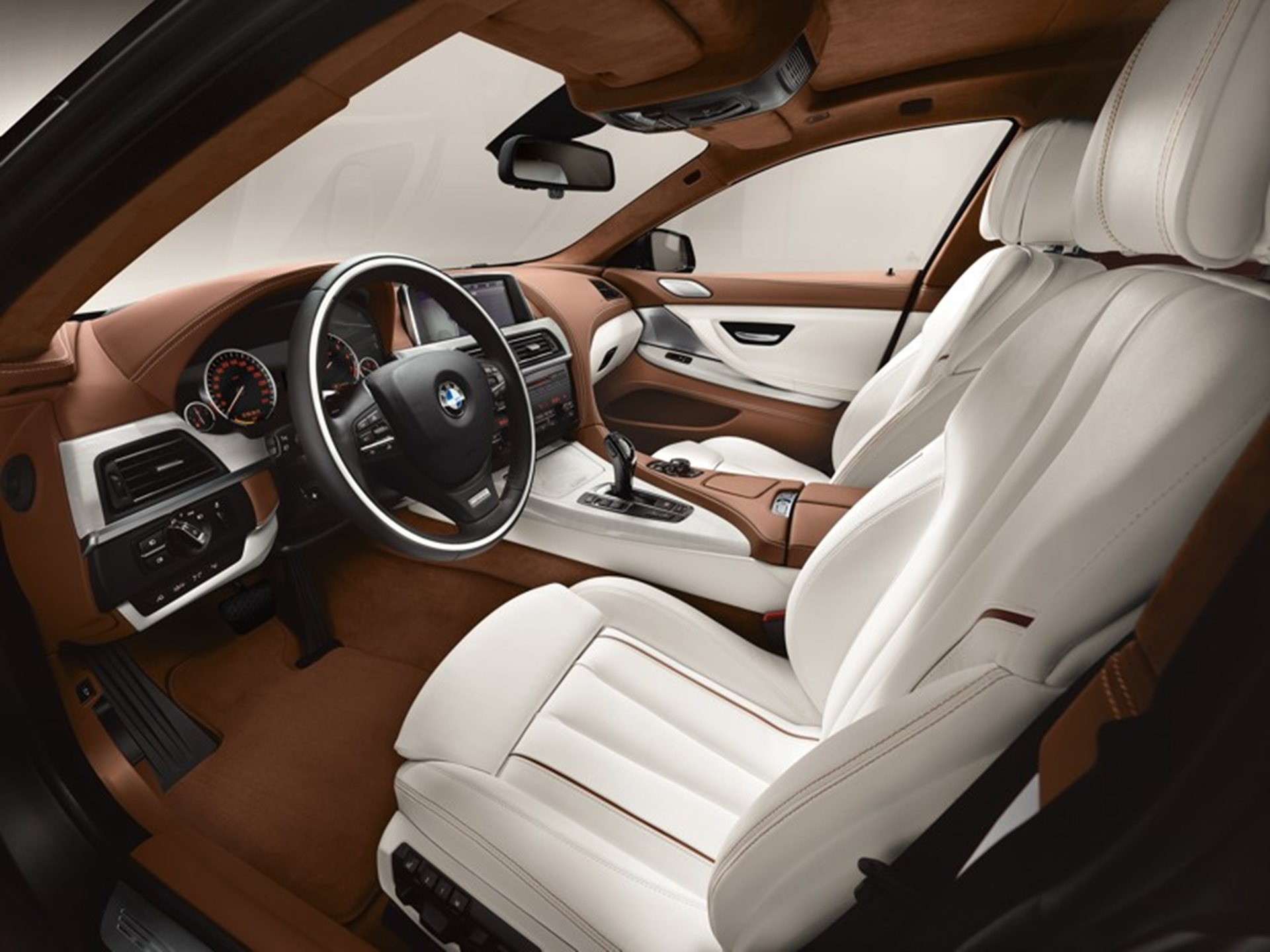 BMW 6-Series Gran-Coupe Interior
