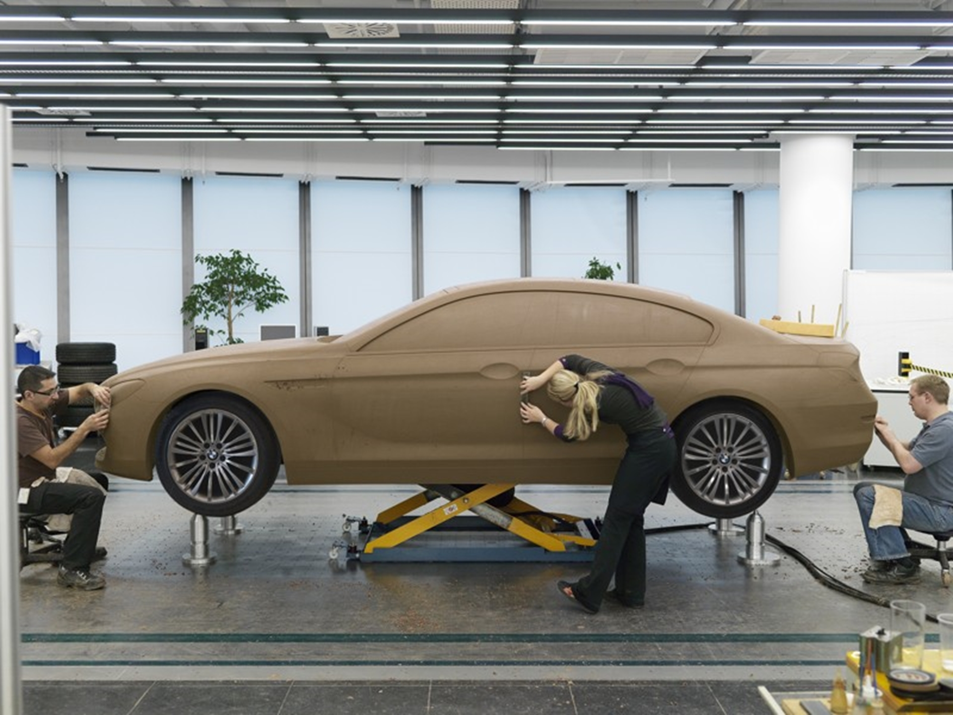 BMW 6 Series Gran Coupe Production Design