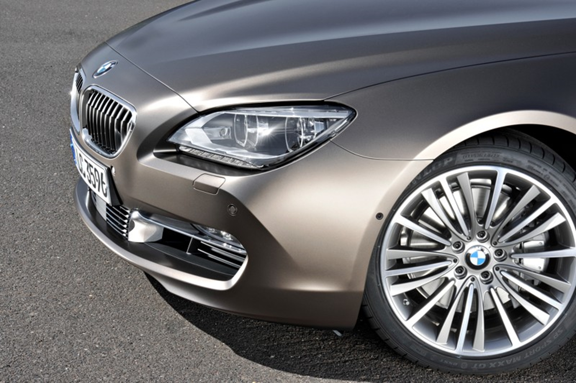 BMW 6-Series Gran Coupe front