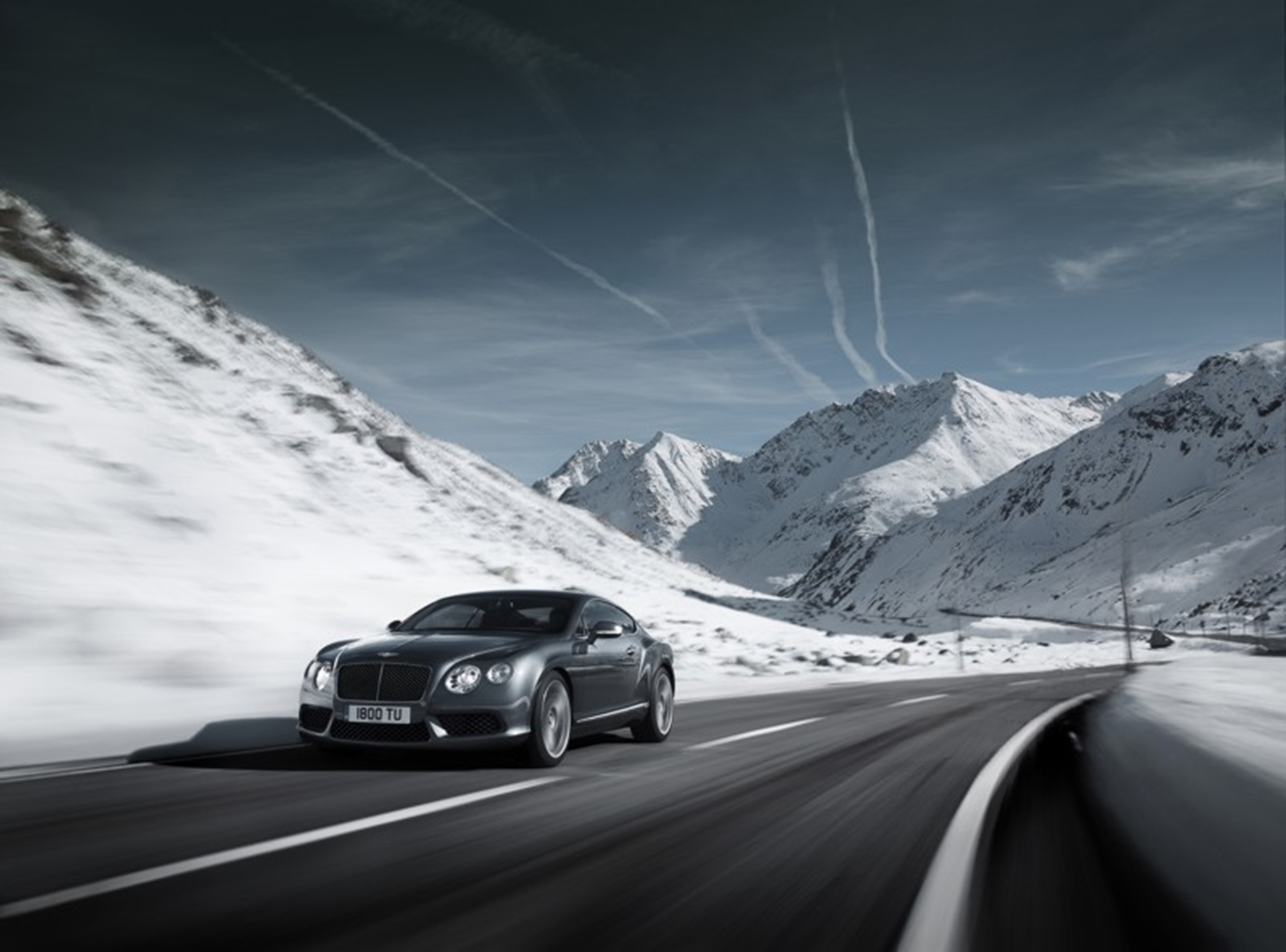 The New Bentley Continental GT V82