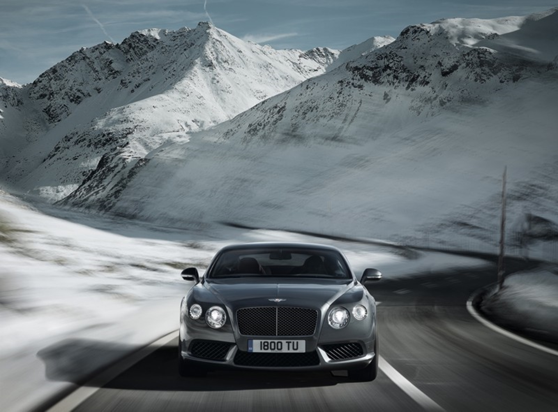 The New Bentley Continental GT V8