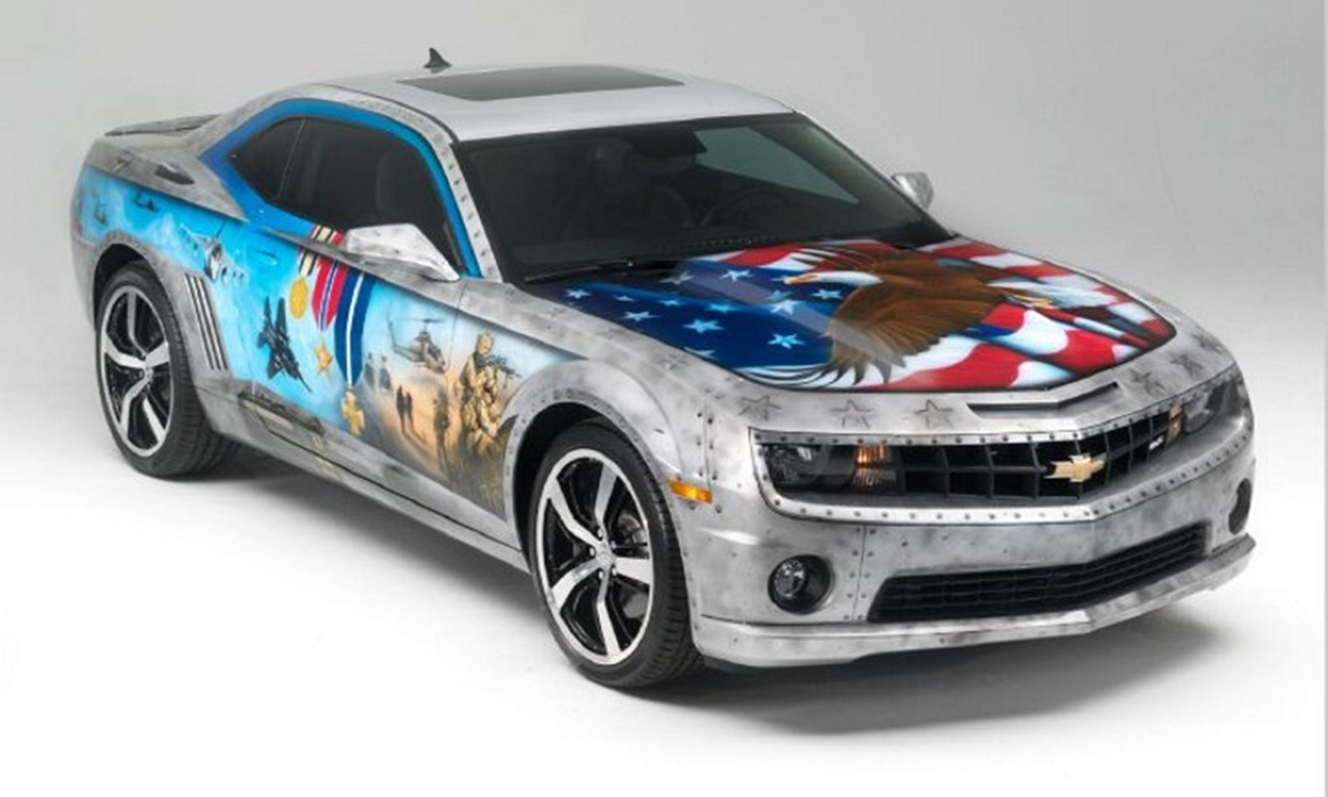 Chevy Military Tribute Camaro