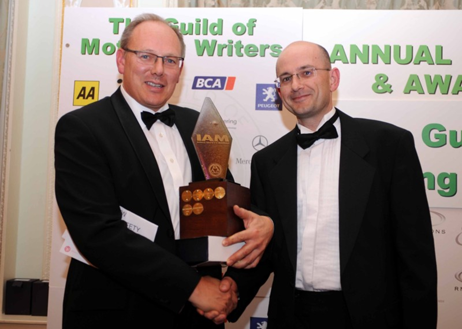 The 2011 Guild Of Motoring Writers Awards
