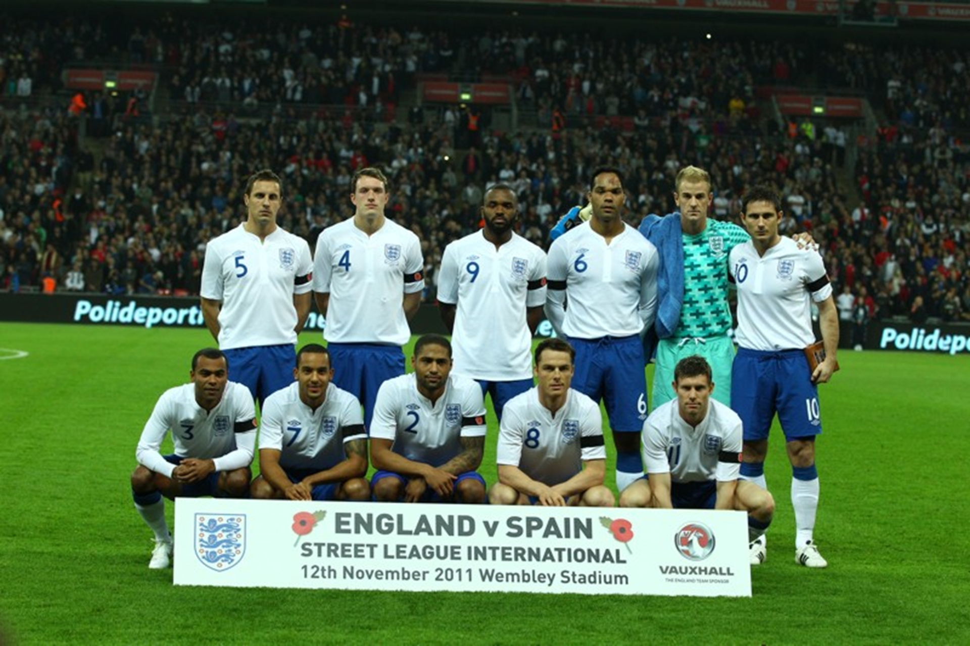 Lucky Vauxhall Trade Club members saw England beat Spain