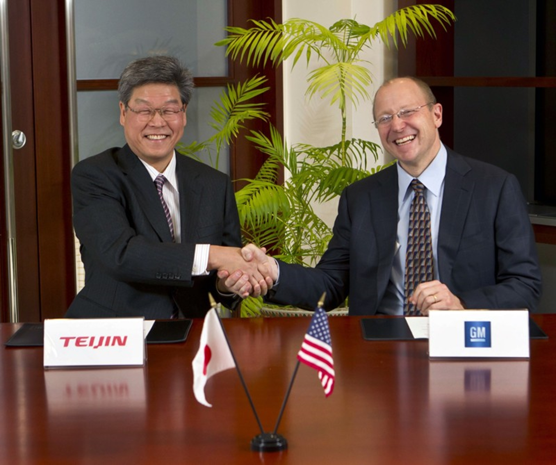 GM Teijin Agreement
