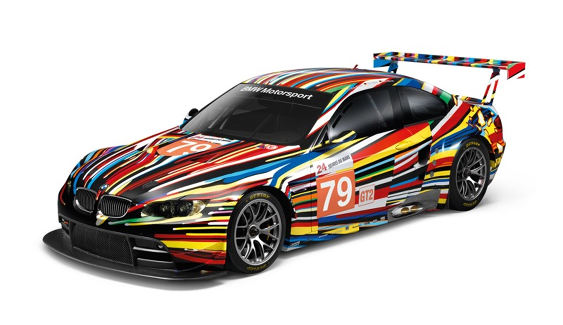 Custom Cars Big Art on a Small Scale. Jeff Koons decorates a Limited ...