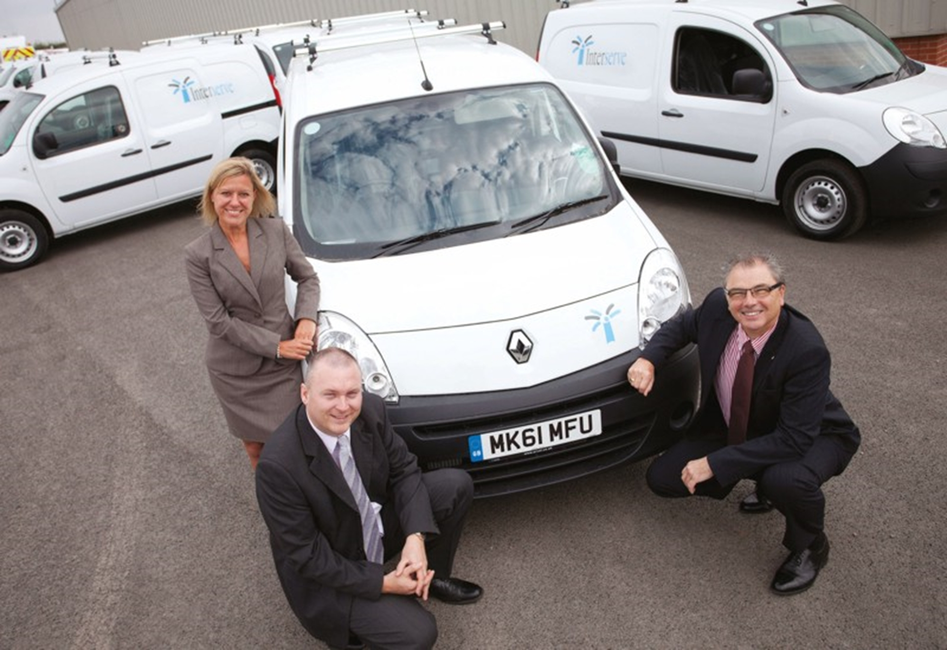 Renault serves up new fleet for Interserve