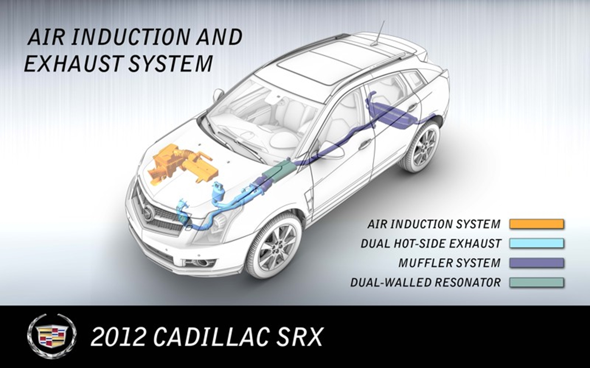 SRX_air_induction_exhaust_system