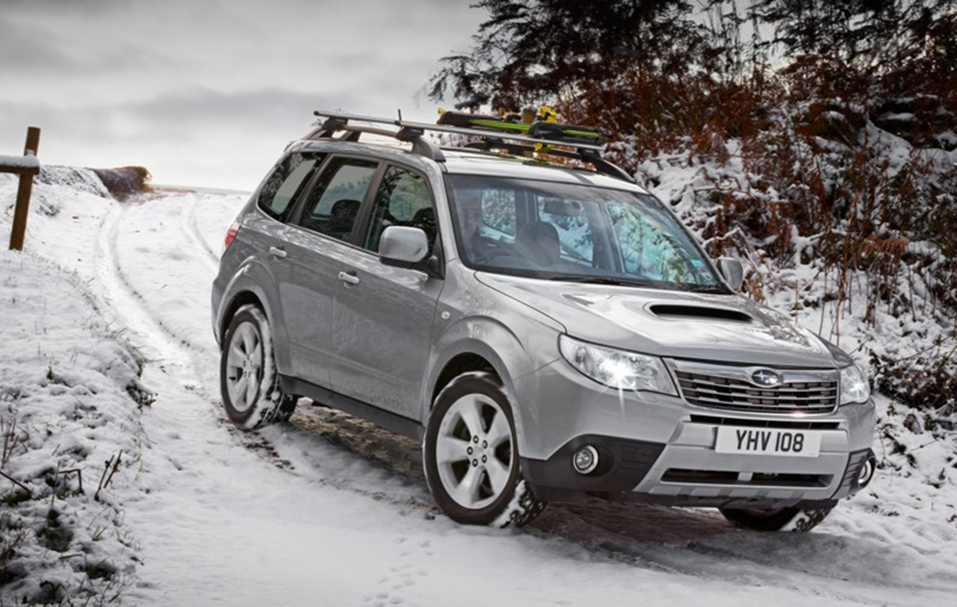 The AA endorses Subaru winter towing