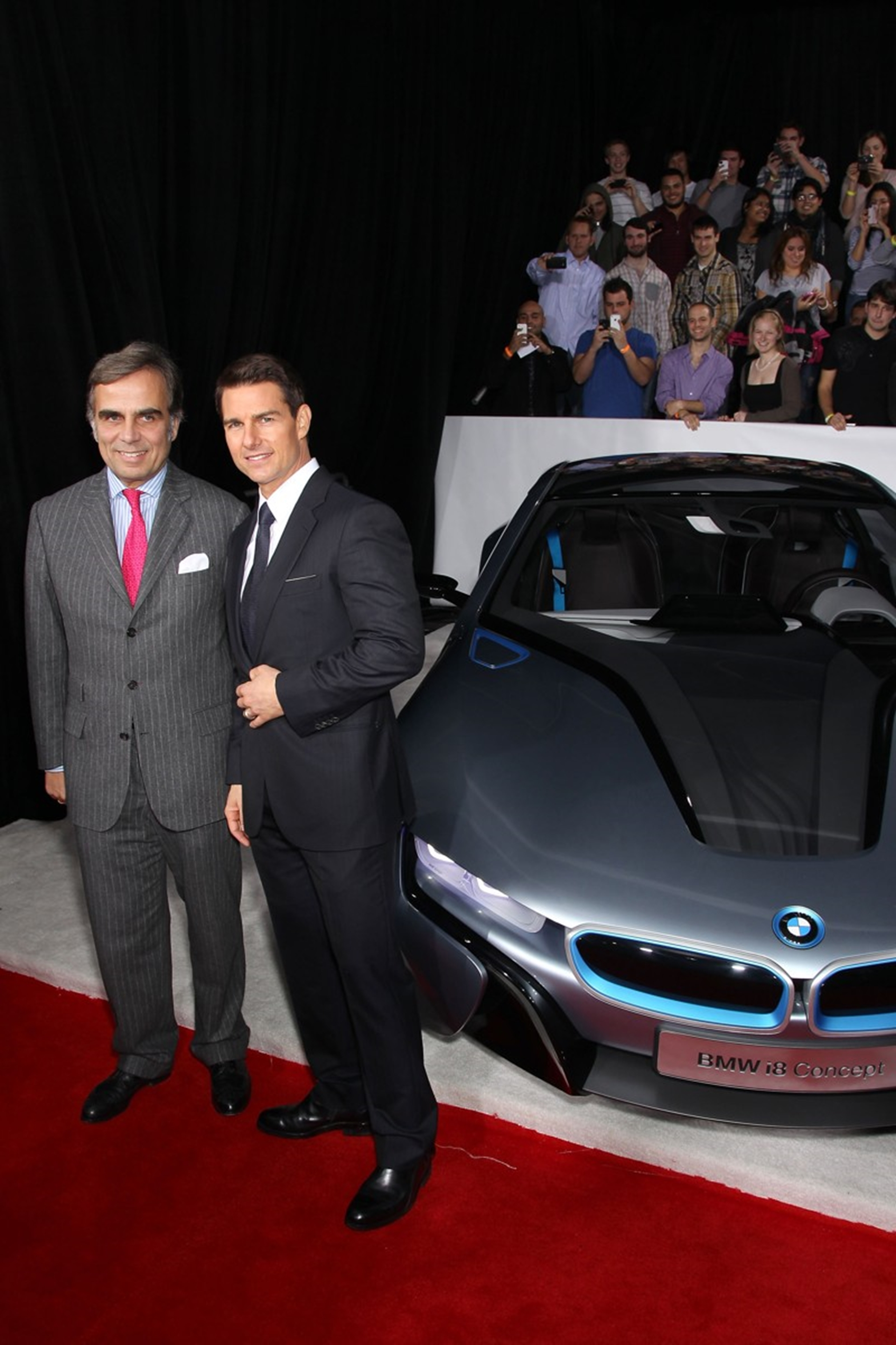 Tom Cruise BMW-I