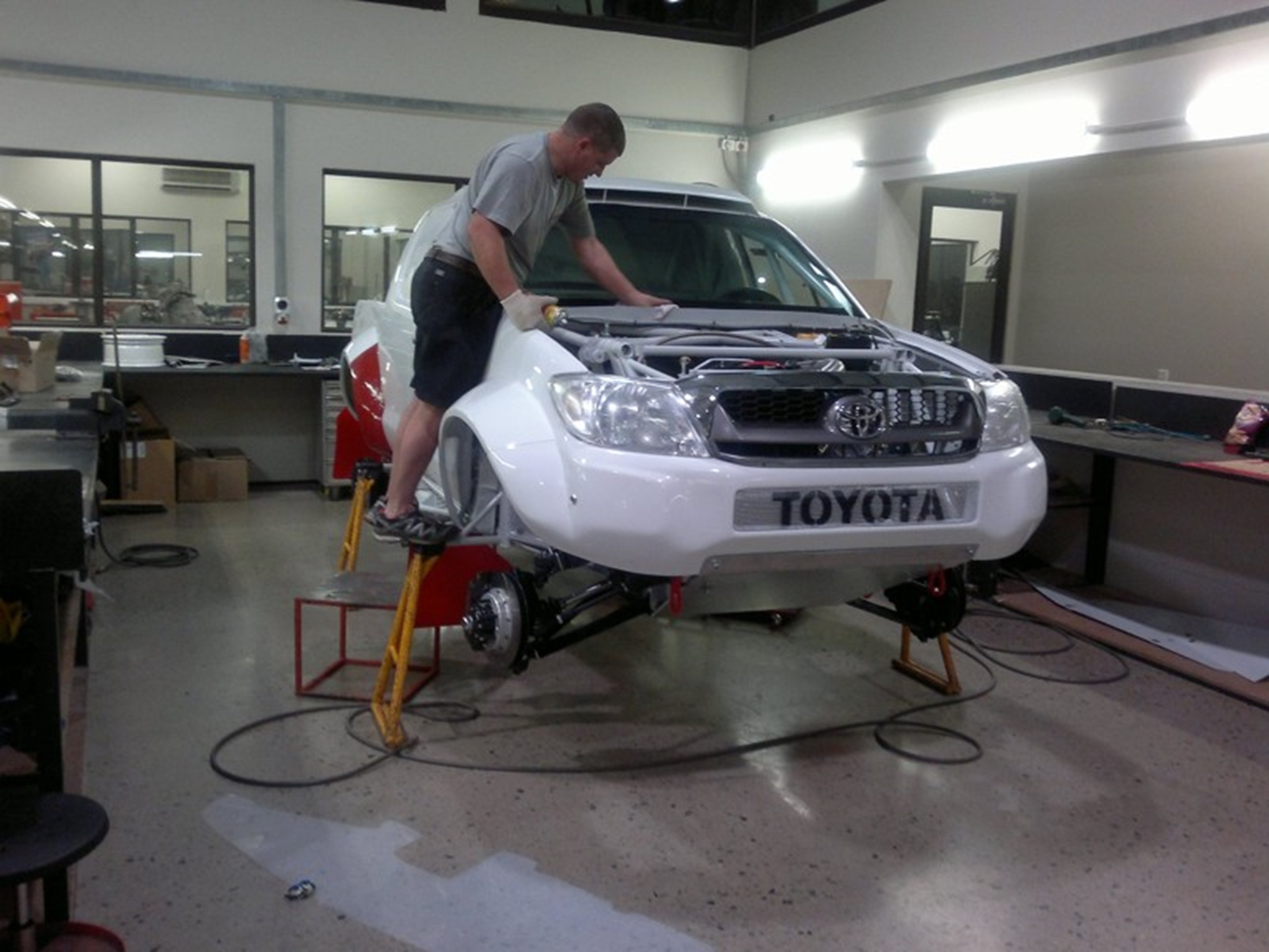 Imperial Toyota South Africa Team In Race Against Time