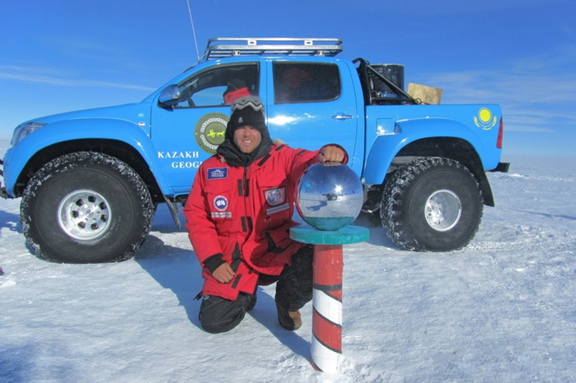 Toyota Hilux South Pole