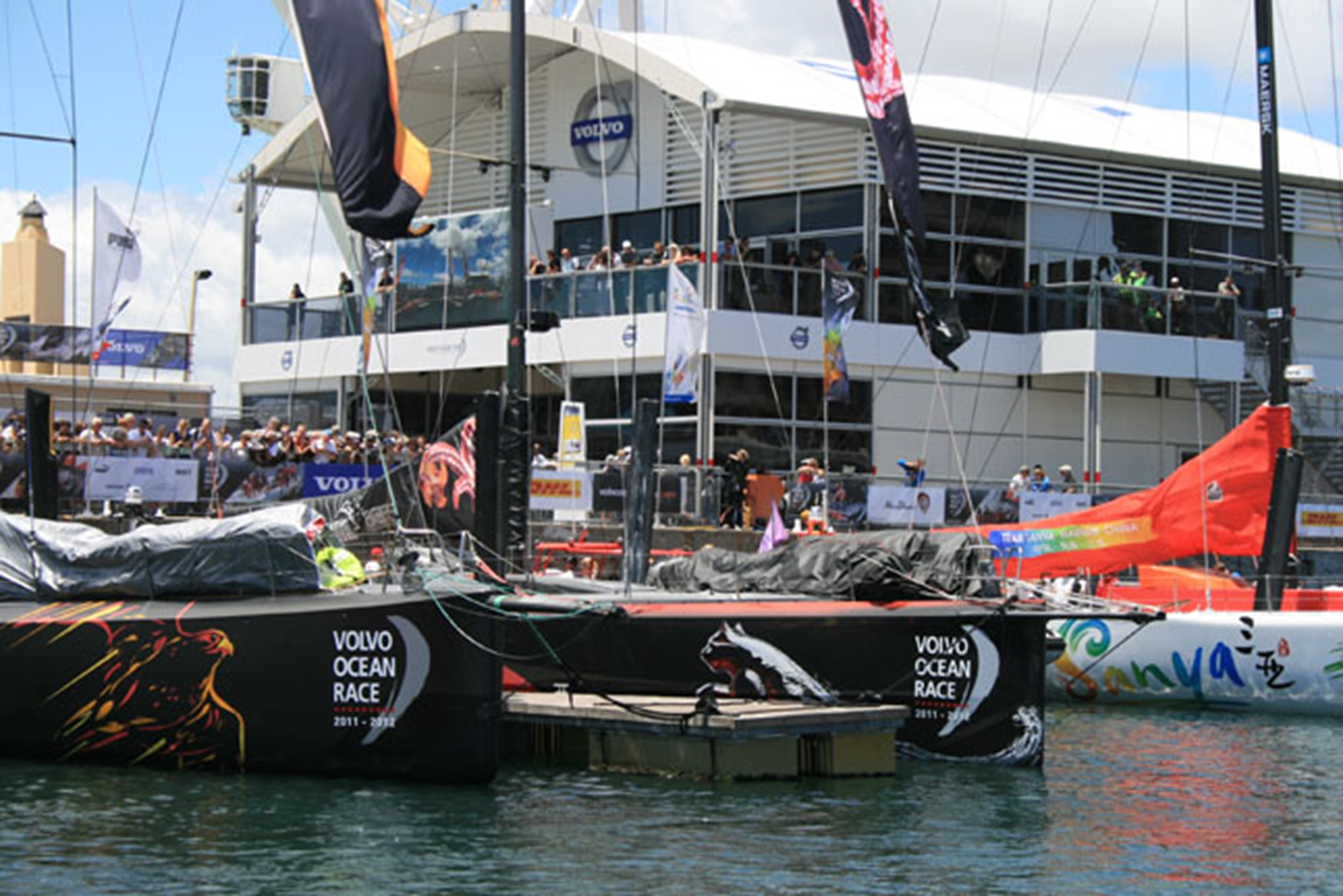 Volvo Ocean Race Harbour