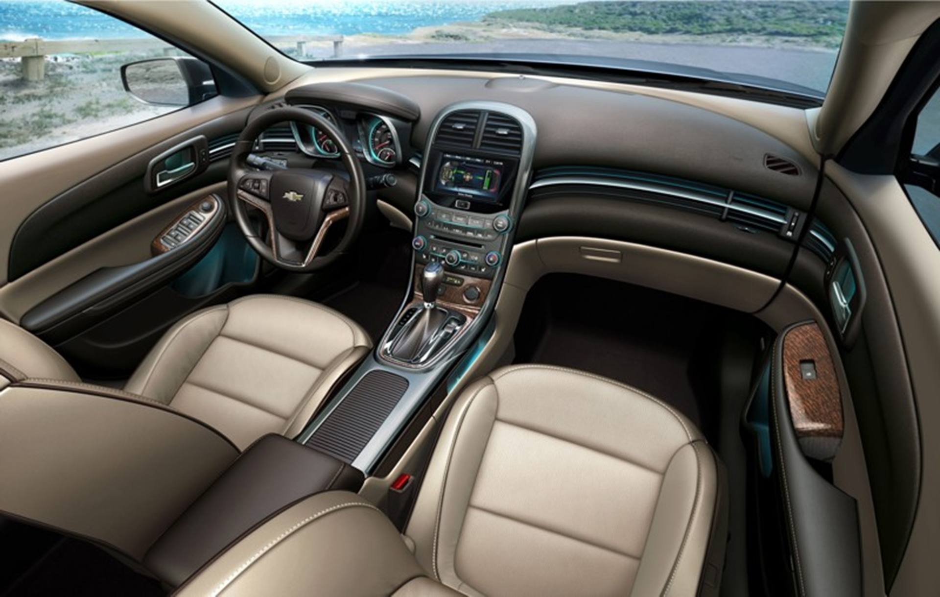 Chevrolet Malibu Interior Delivers A Touch Of Luxury