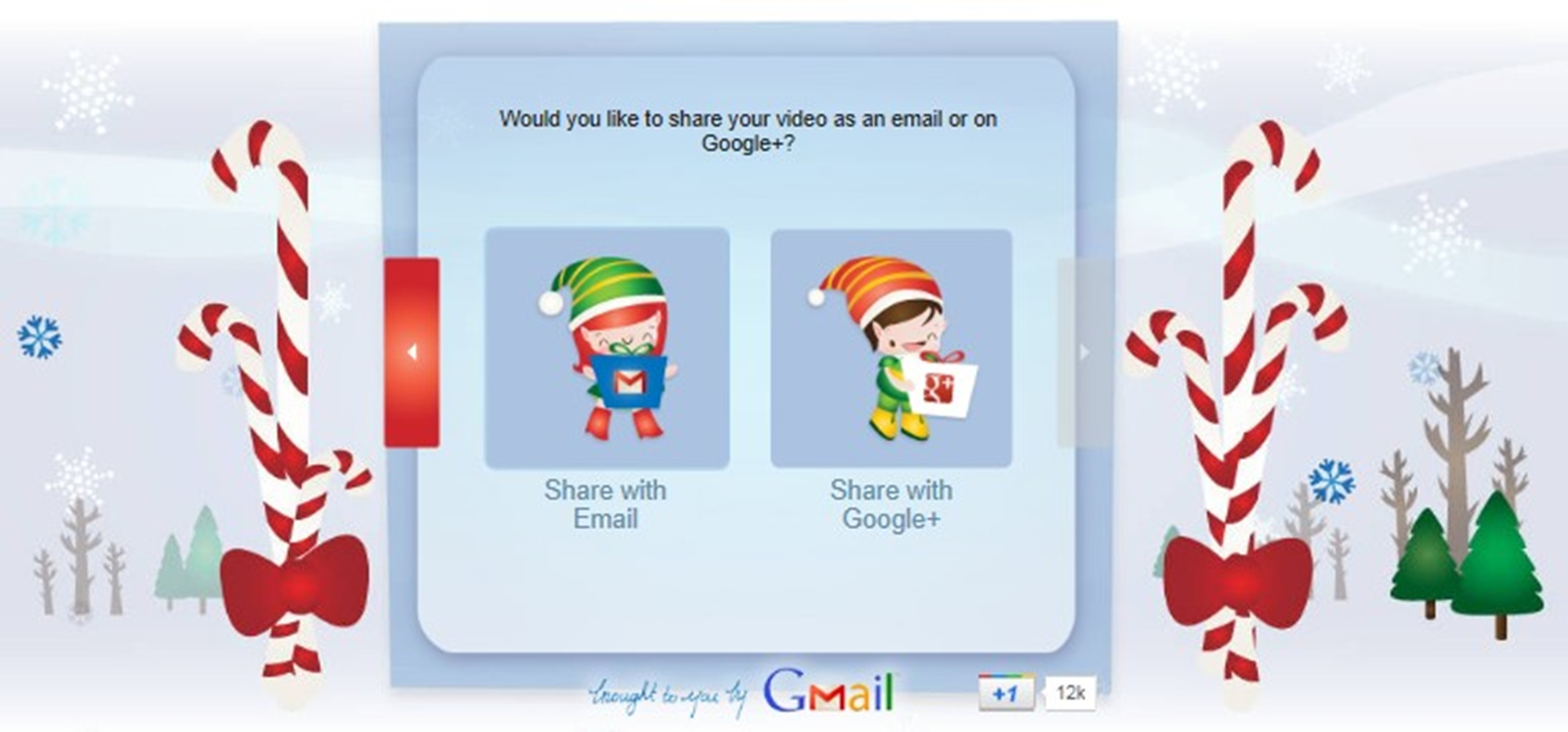 Choose How you want to send your Santa
