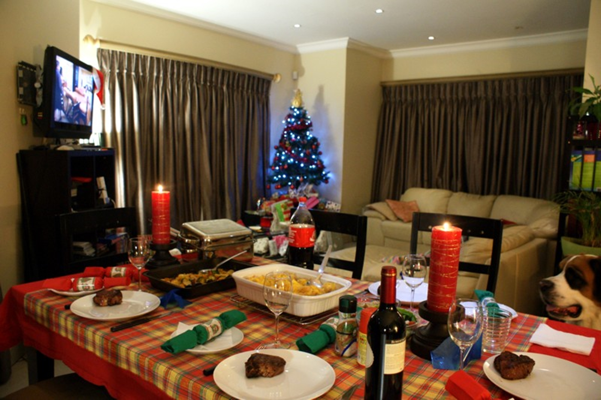 Christmas Eve Dinner South Africa