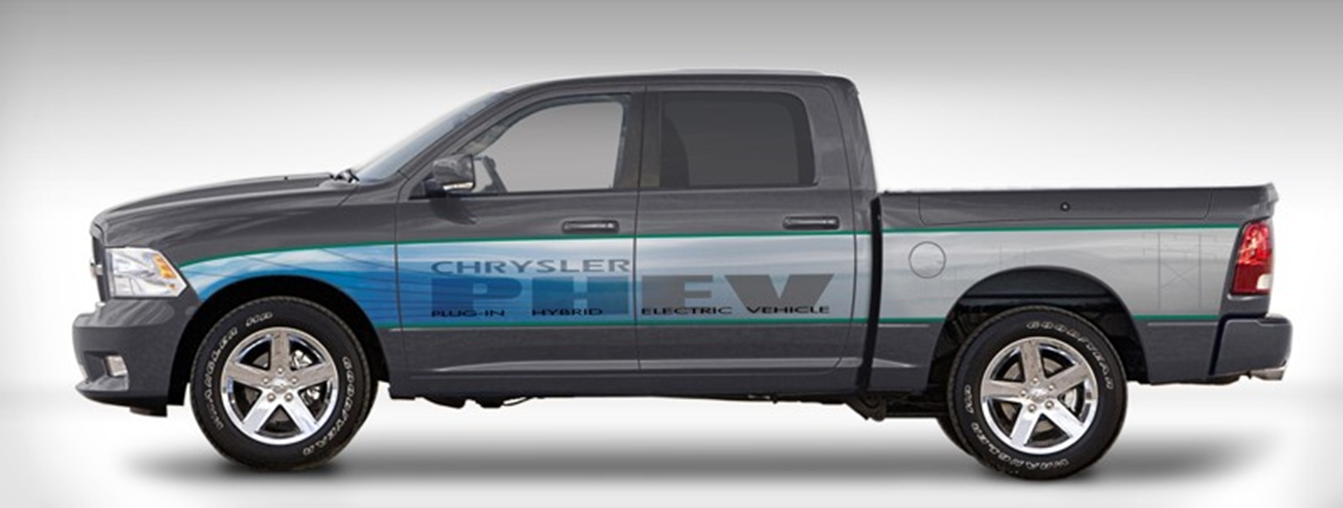 chrysler group llc providing dte energy with test fleet of 10 phev ram 1500 pickup trucks. Black Bedroom Furniture Sets. Home Design Ideas