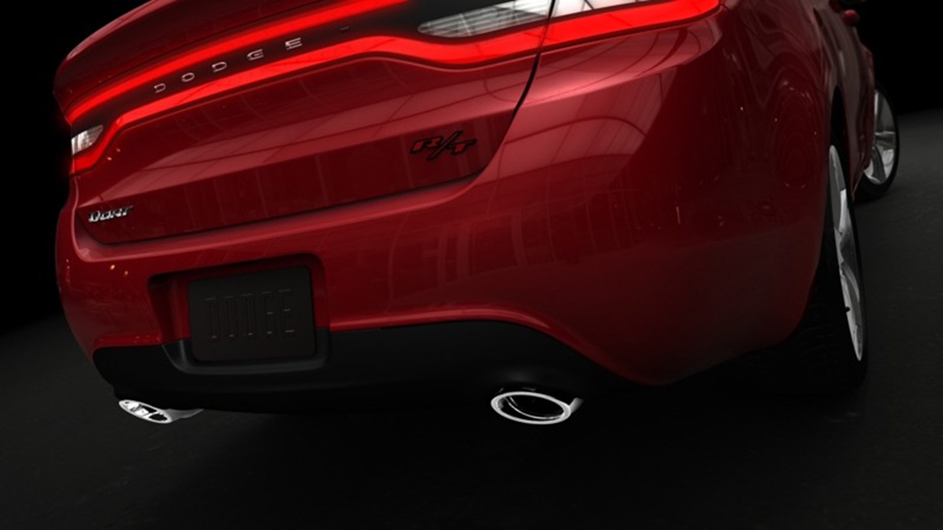Dodge Dart Rear