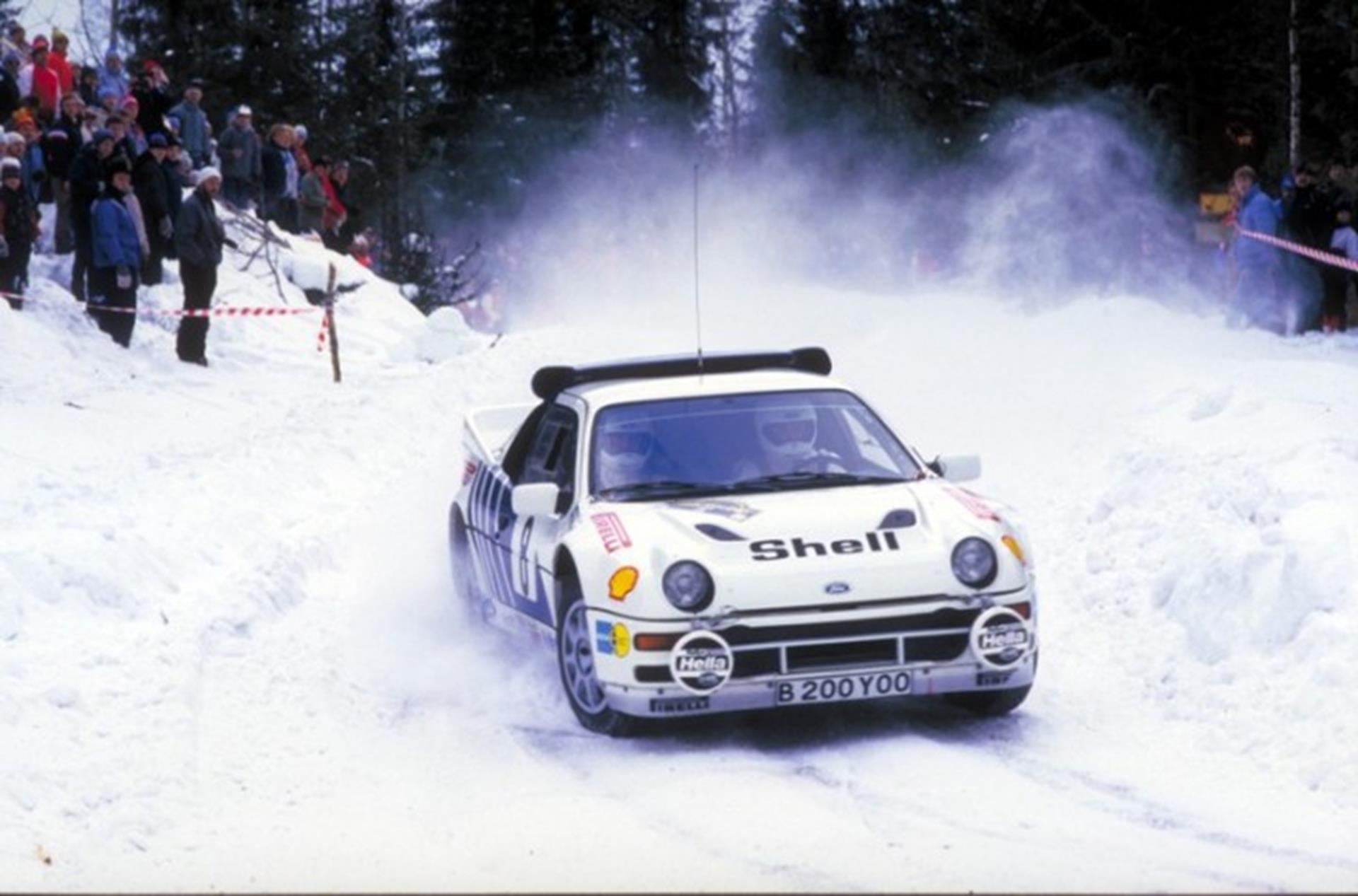 RS200, transformed from tough, fast rally car