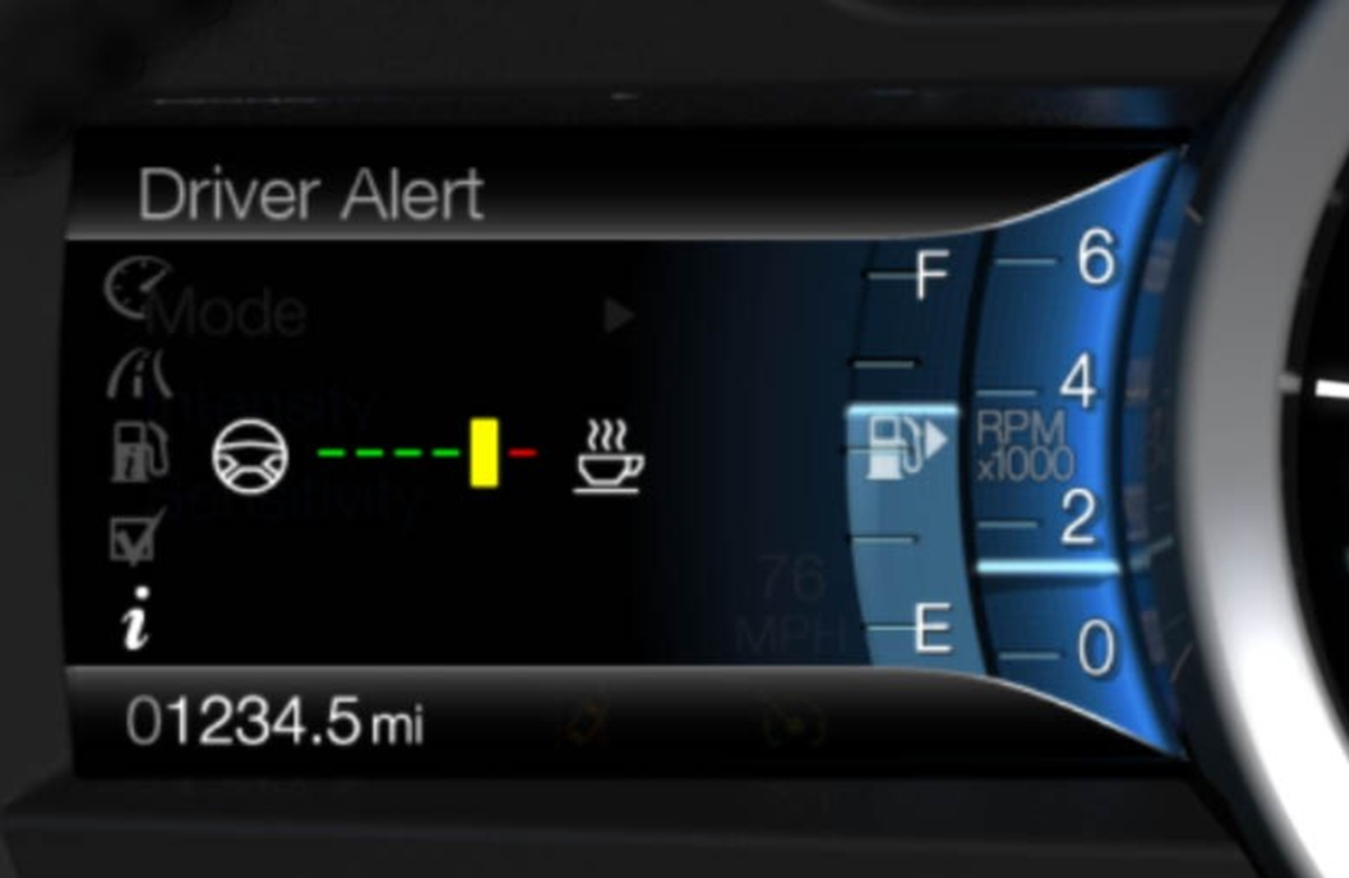 All New Ford Fusion Will Offer Available Lane Keeping System