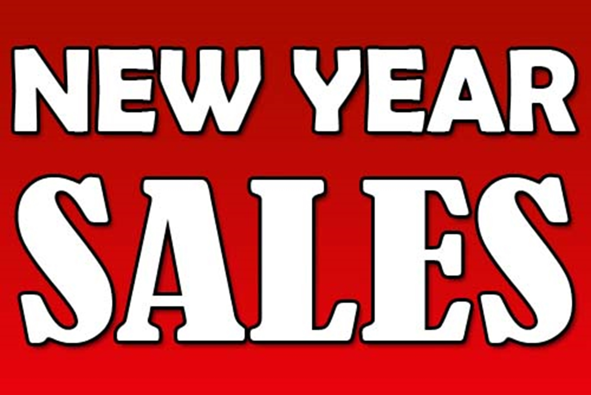 new year sales - Best Sales After Christmas