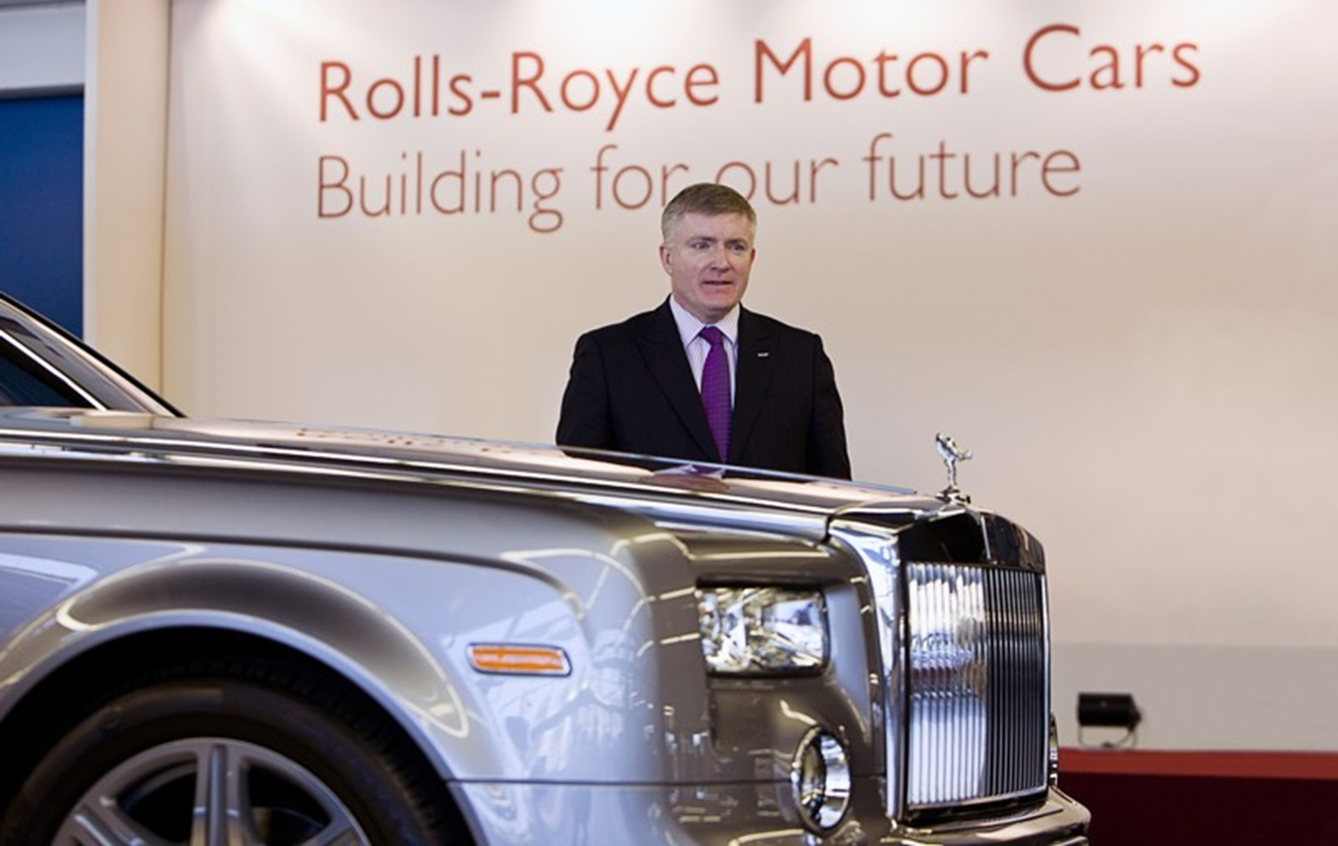Rolls Royce Business Minister