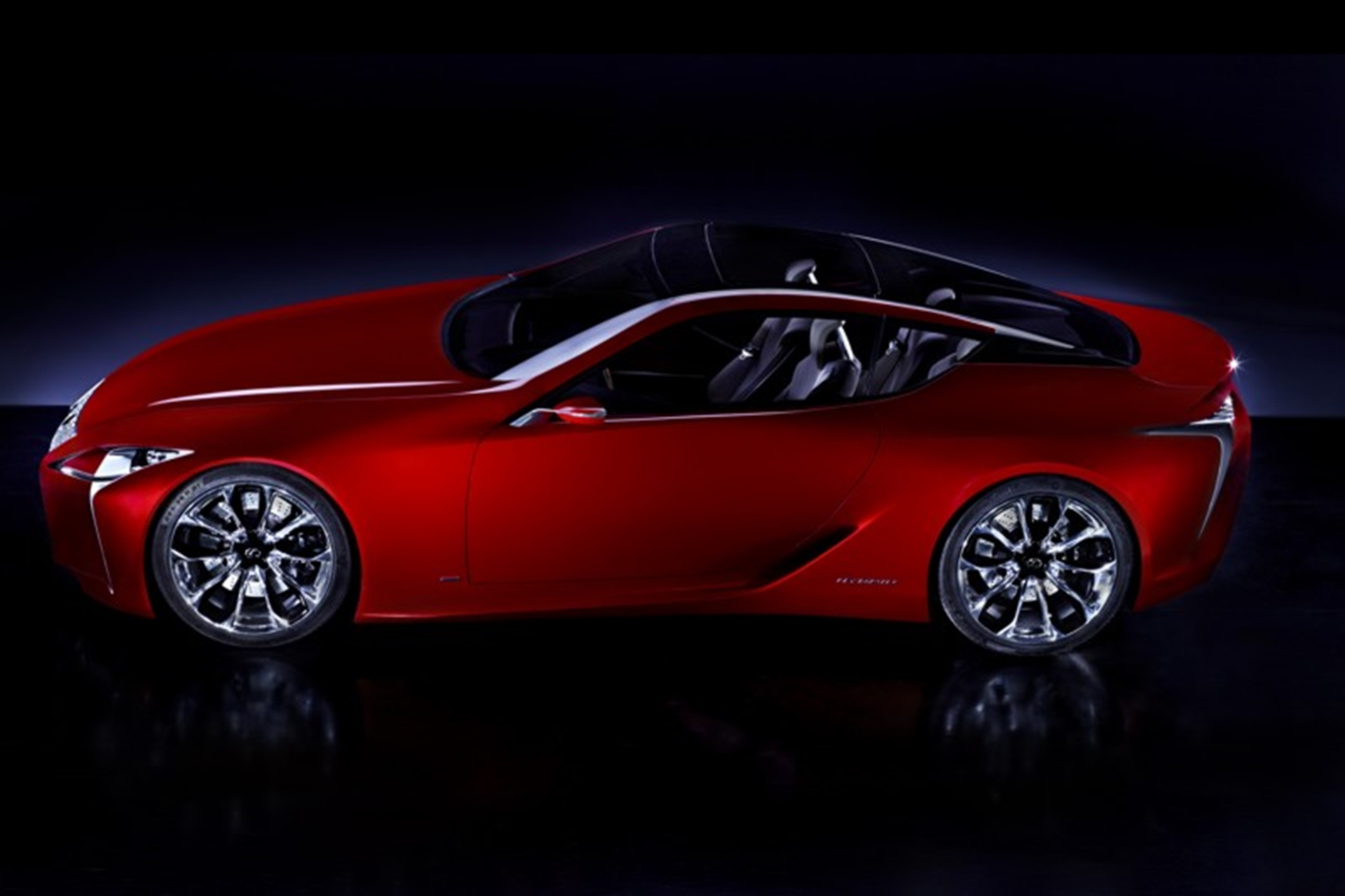 The new LF-LC 2+2 sports coupe concept