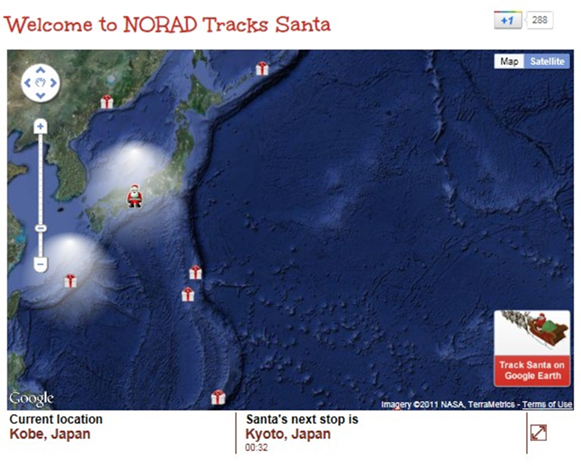 Where Is Santa Now Santa Just Reached Japan