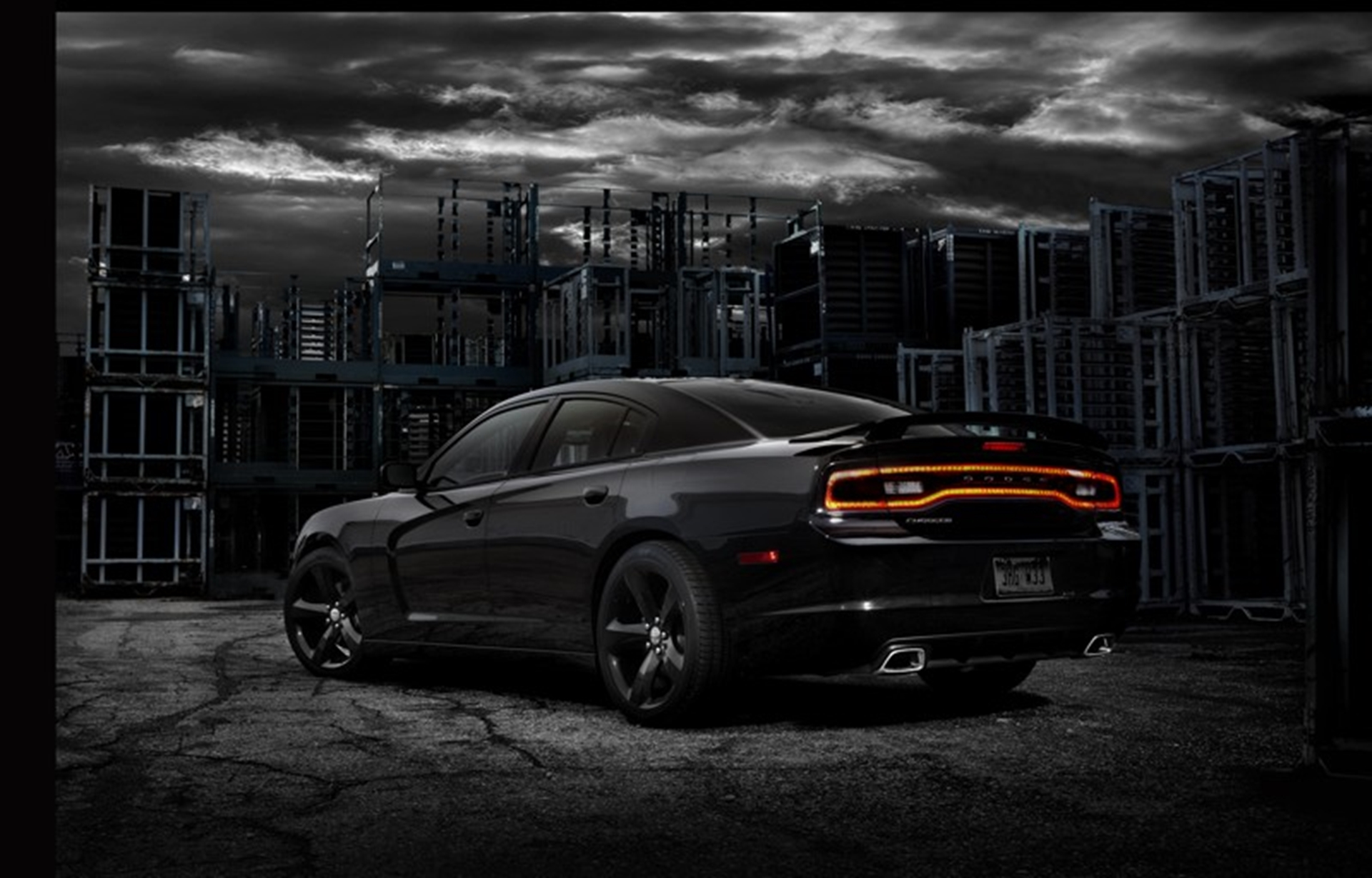 2012 Dodge Charger rear