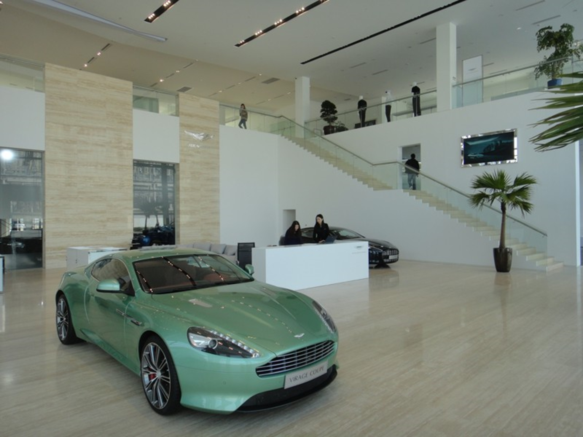 Aston Martin Opens Flagship Showroom in Shanghai