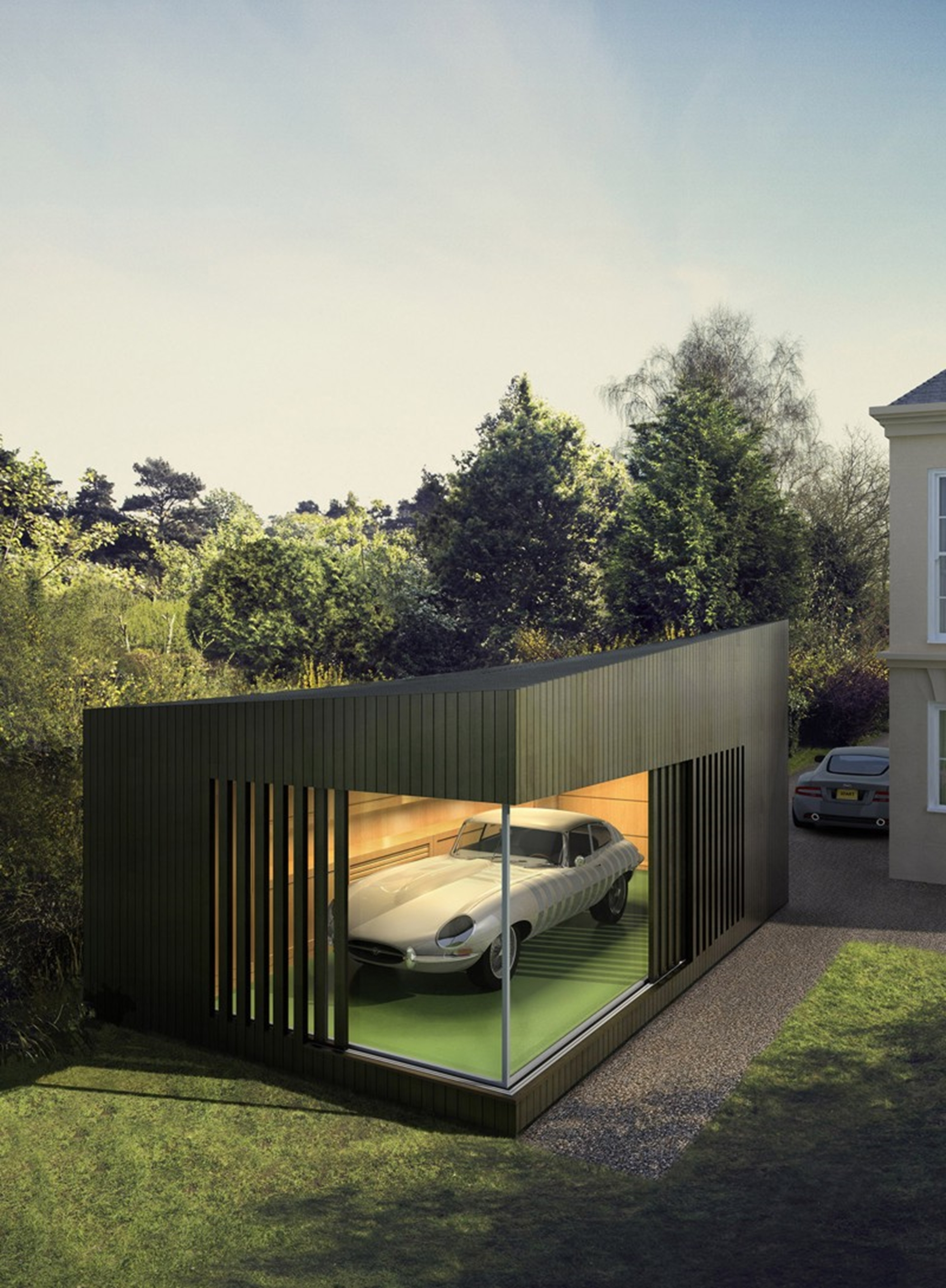 AutoSpace - a stunning new garage design by Ecospace