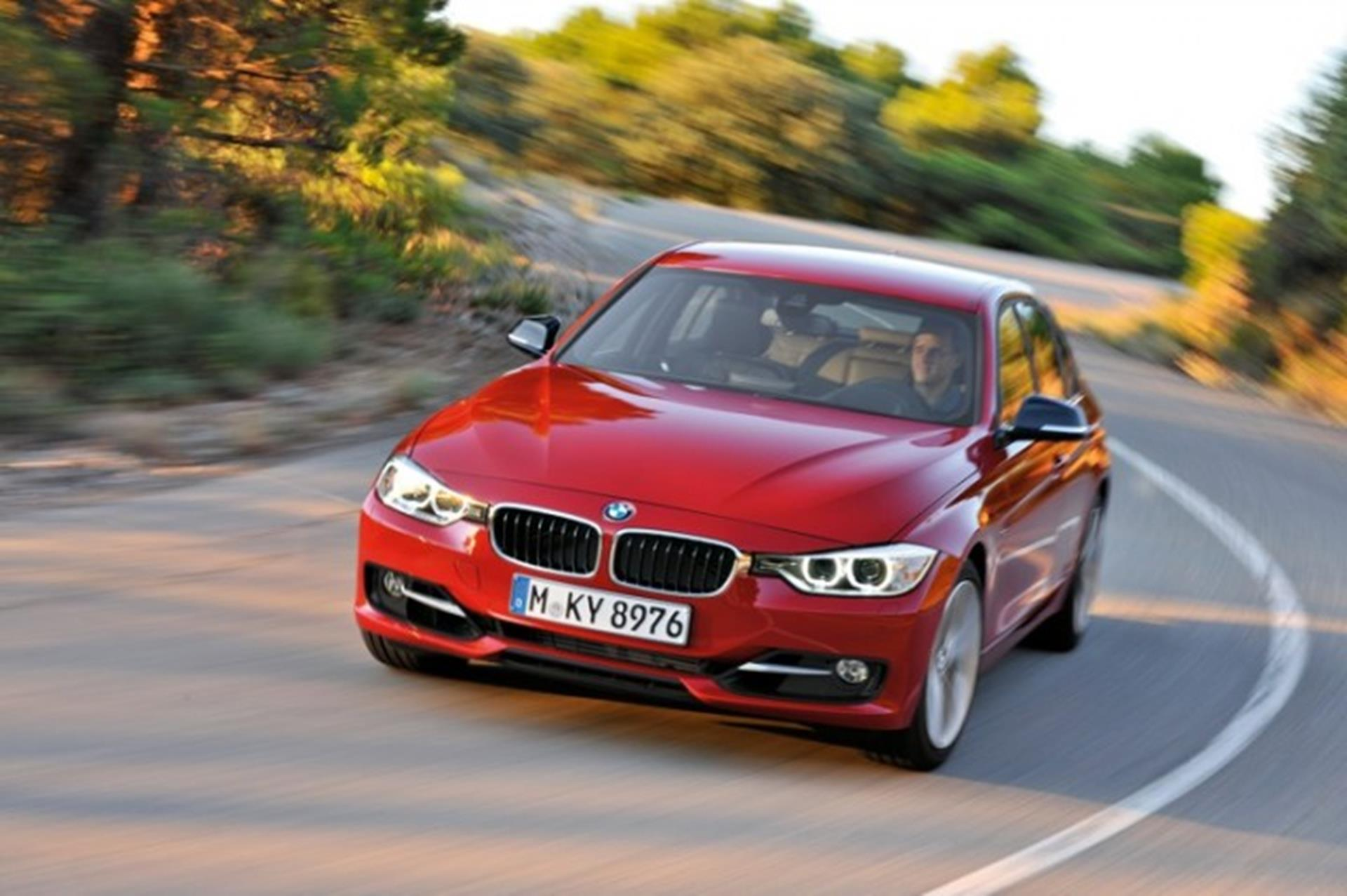 The new BMW 3 Series Sedan, Sport Line