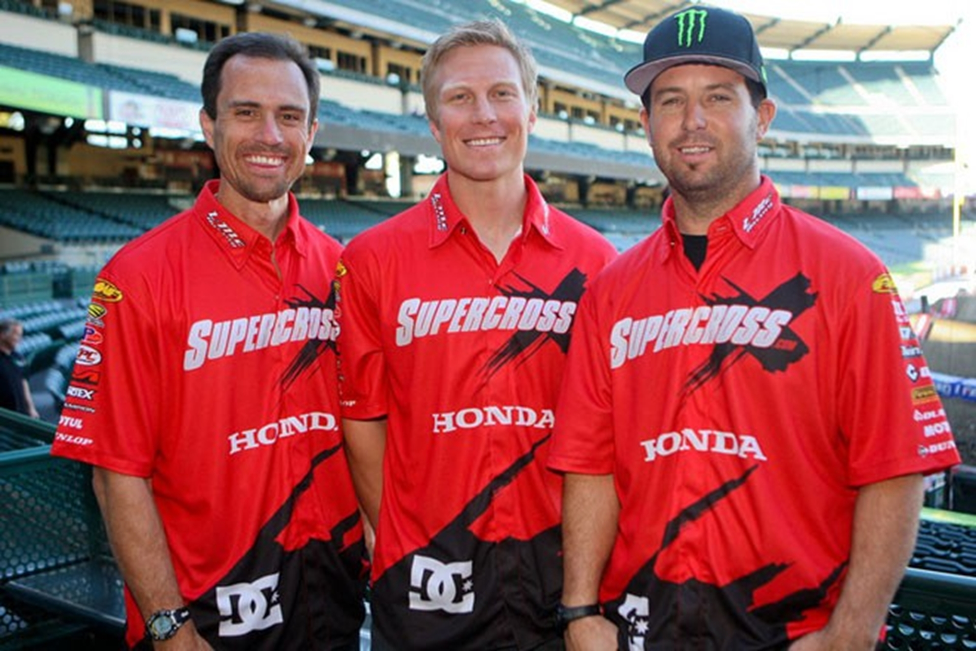 DC McGrath Supercross team