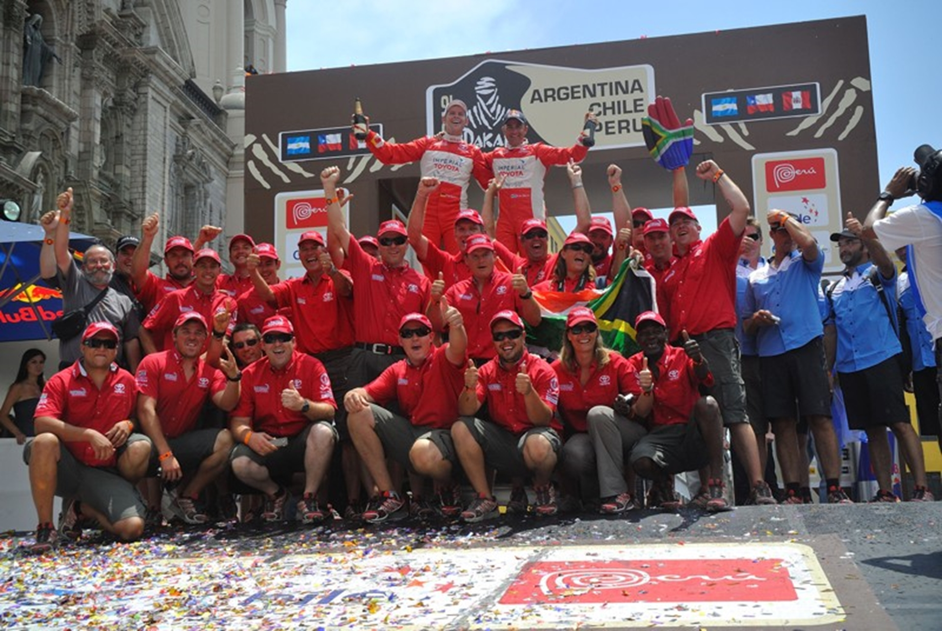Dakar South-Africa Toyota Team