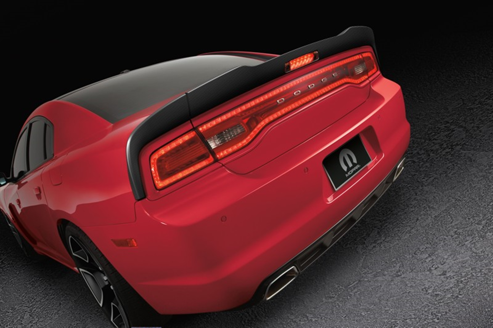 Dodge Charger Redline 2012 rear