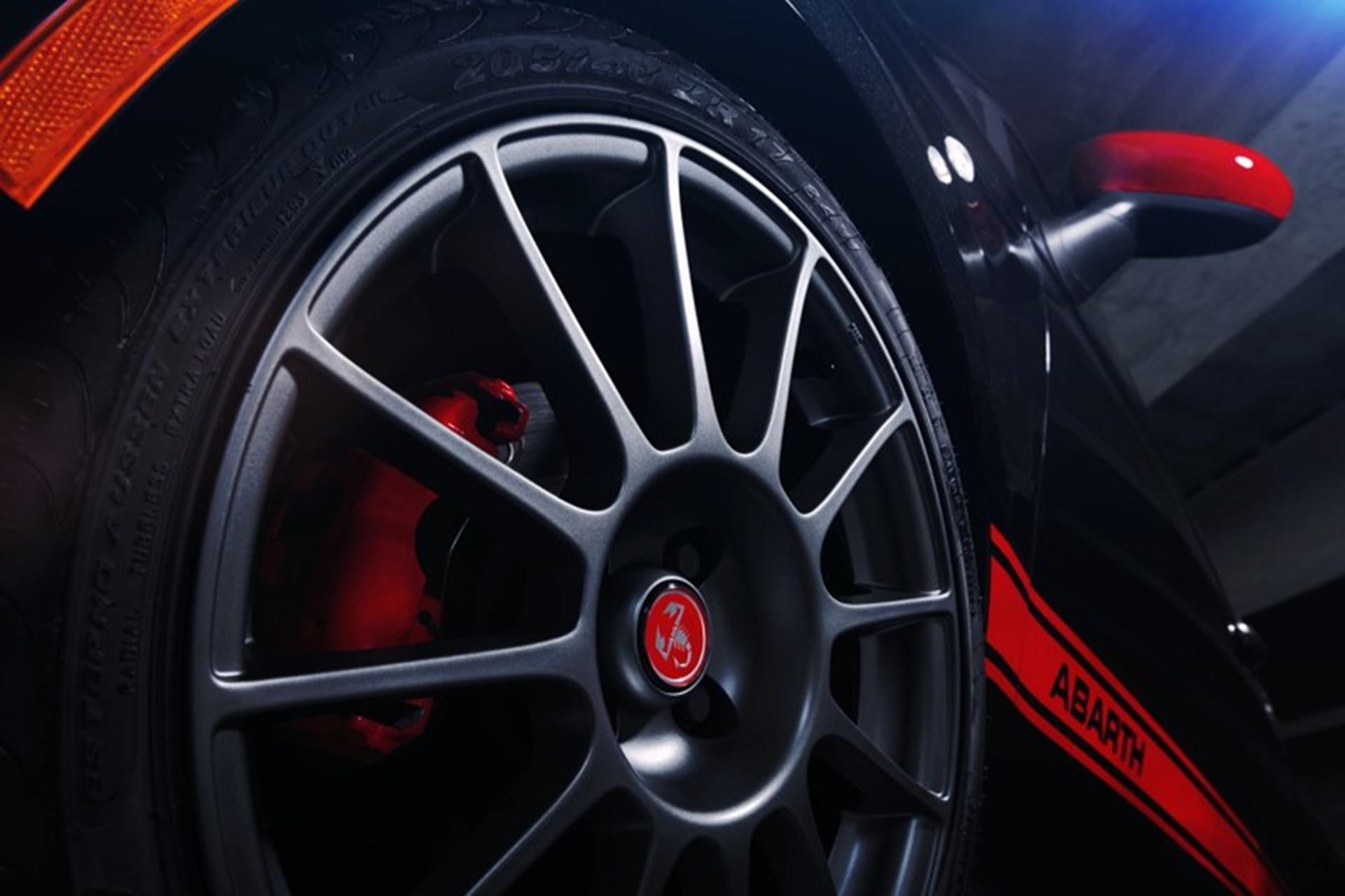 Fiat Abarth tyre