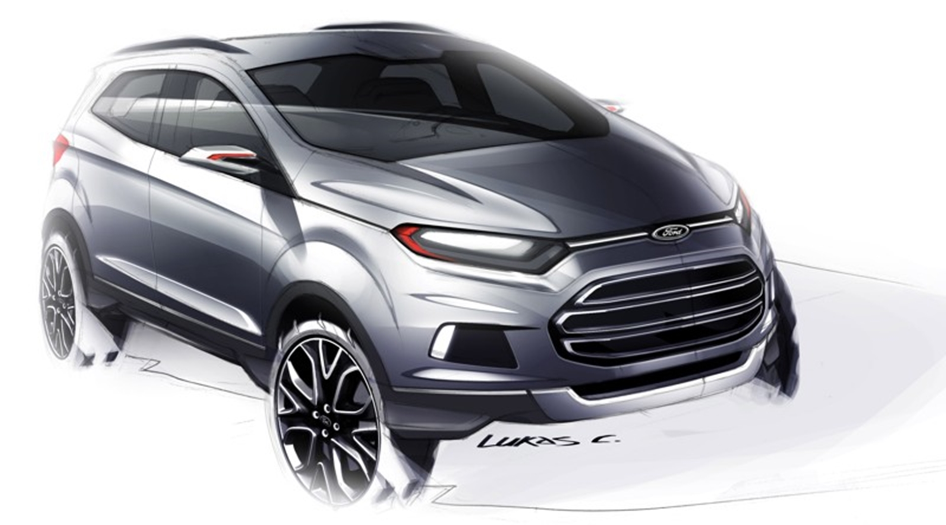 Ford Eco Sport Design 2012