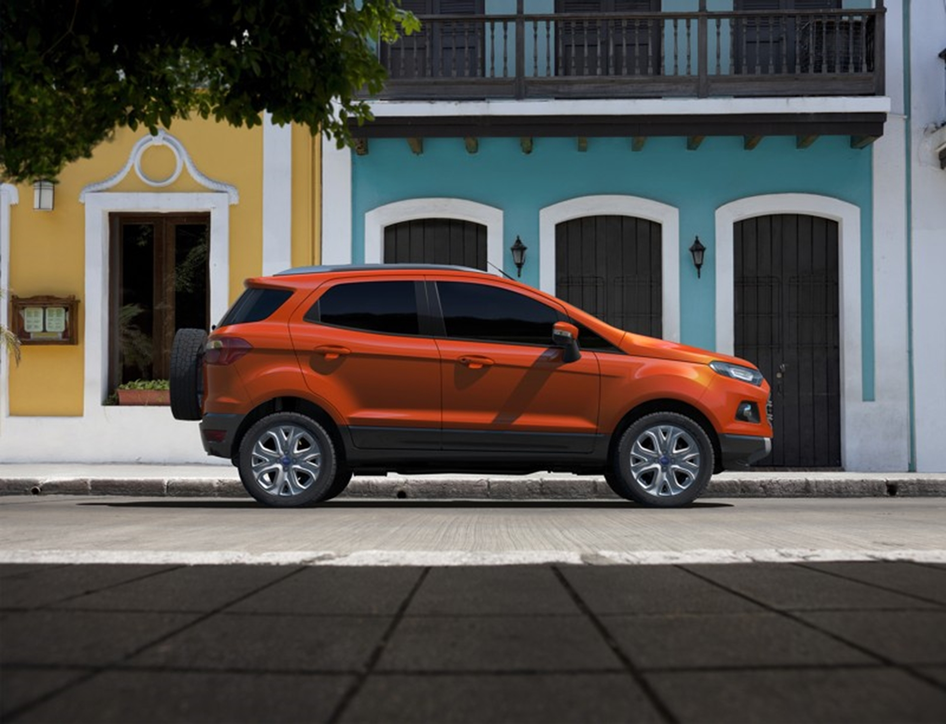 Ford Eco Sport side